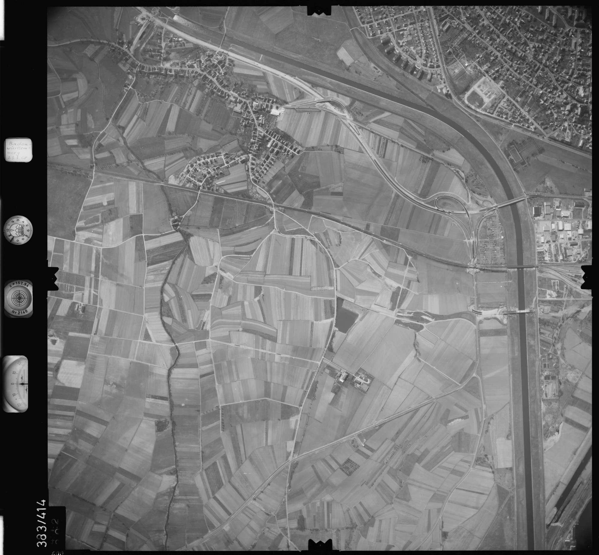 Luftbild: Film 24 Bildnr. 600, Bild 1
