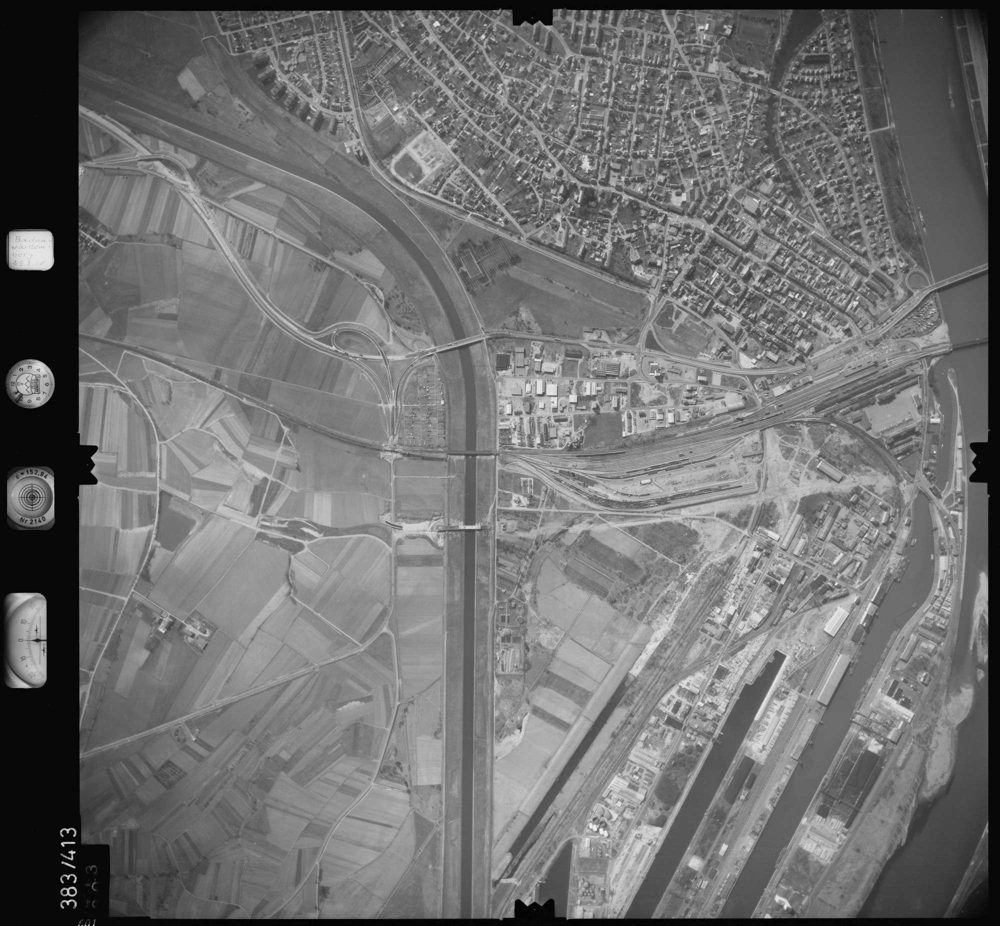 Luftbild: Film 24 Bildnr. 601, Bild 1