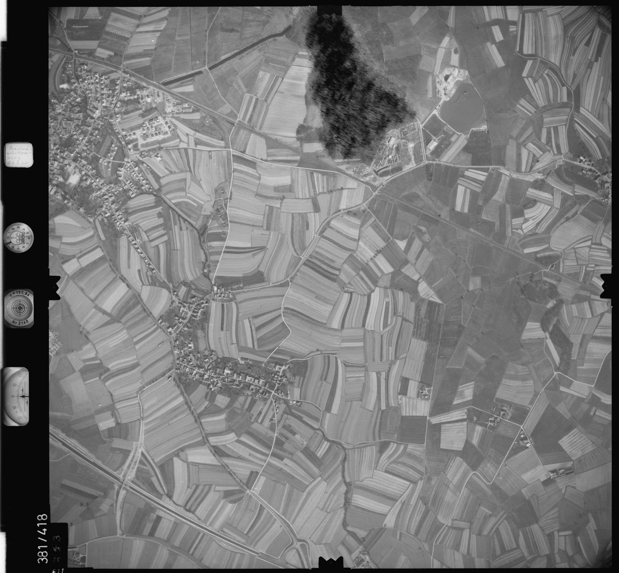 Luftbild: Film 24 Bildnr. 611, Bild 1