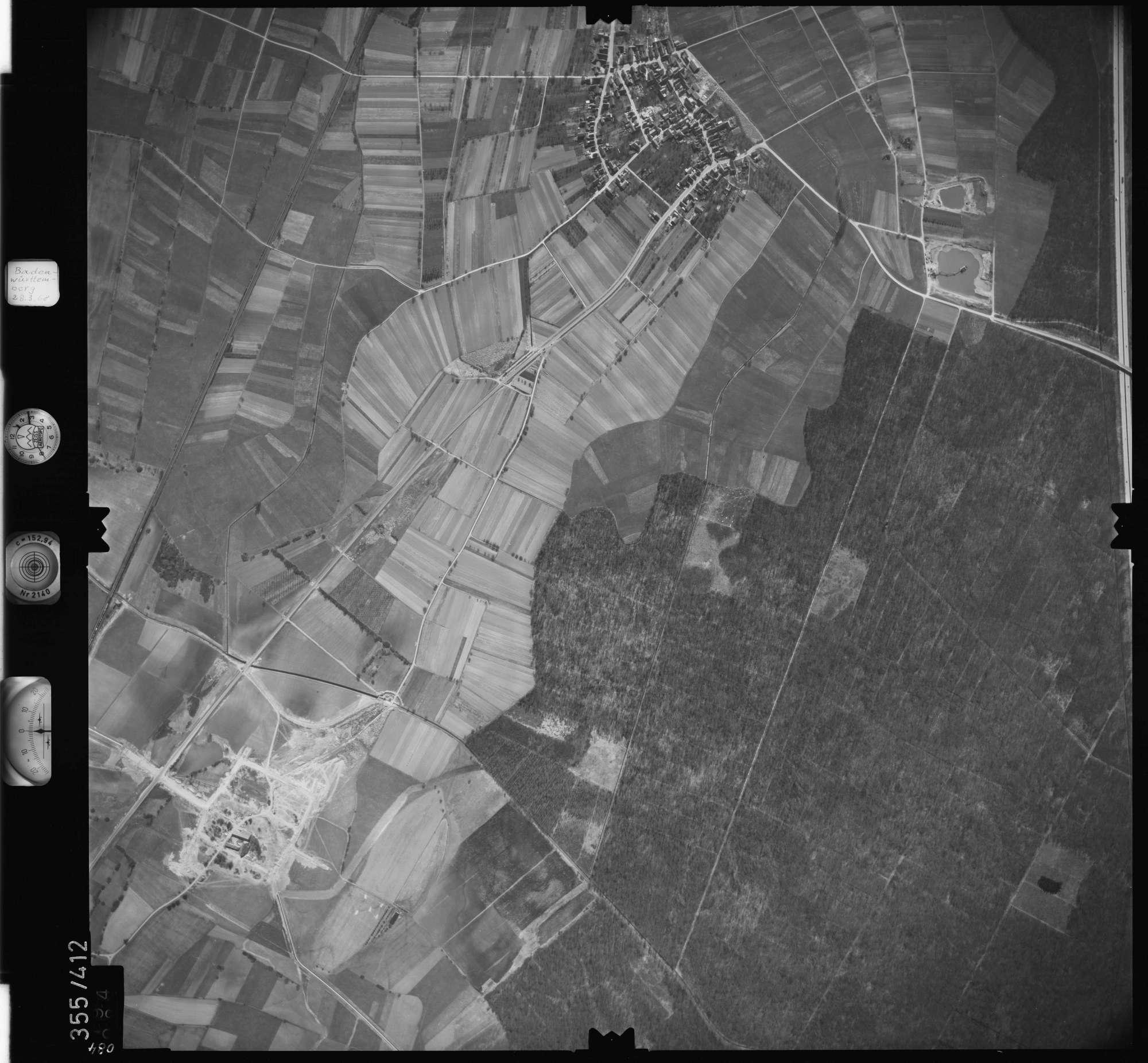 Luftbild: Film 36 Bildnr. 84, Bild 1