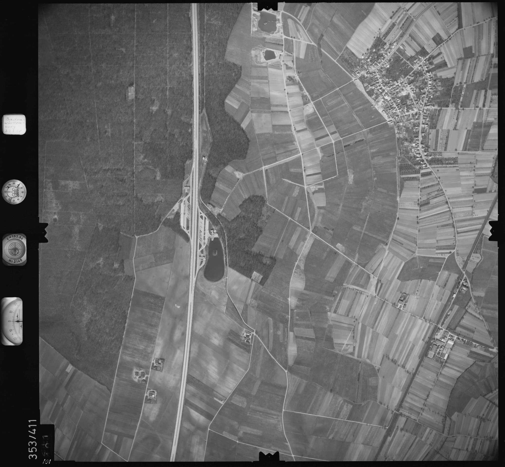 Luftbild: Film 36 Bildnr. 101, Bild 1