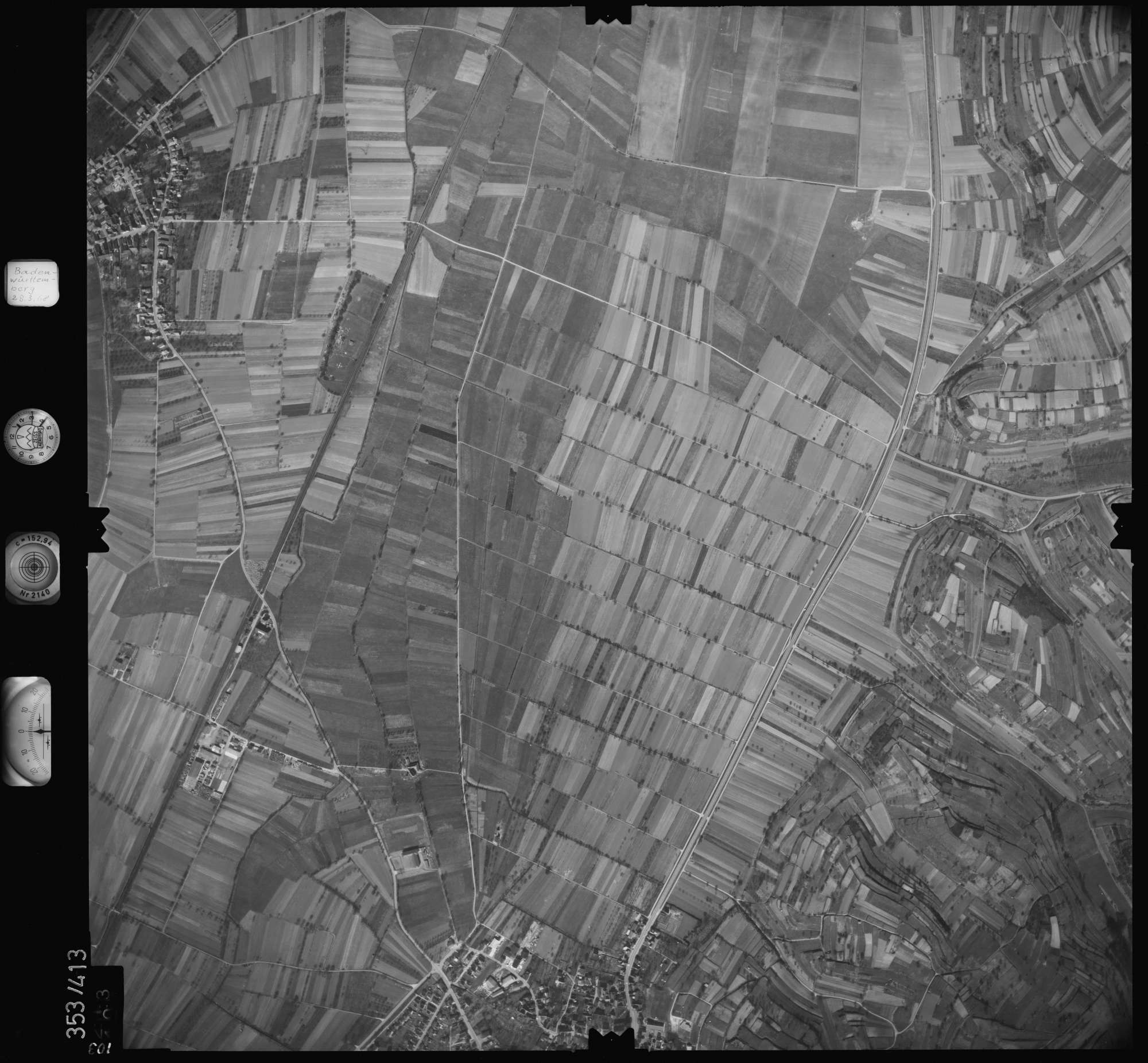 Luftbild: Film 36 Bildnr. 103, Bild 1