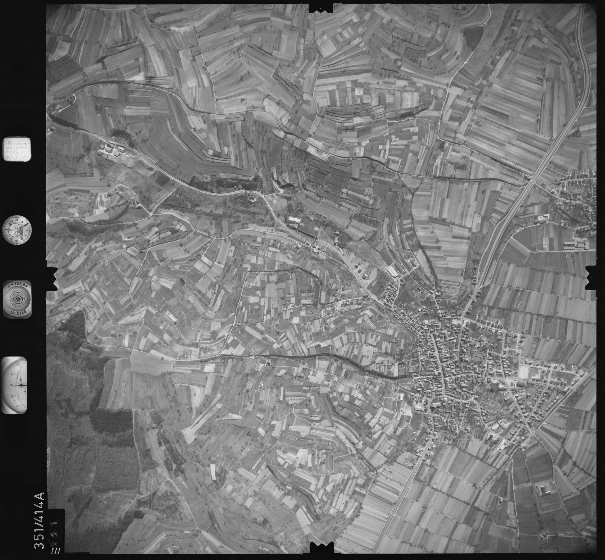Luftbild: Film 36 Bildnr. 111, Bild 1