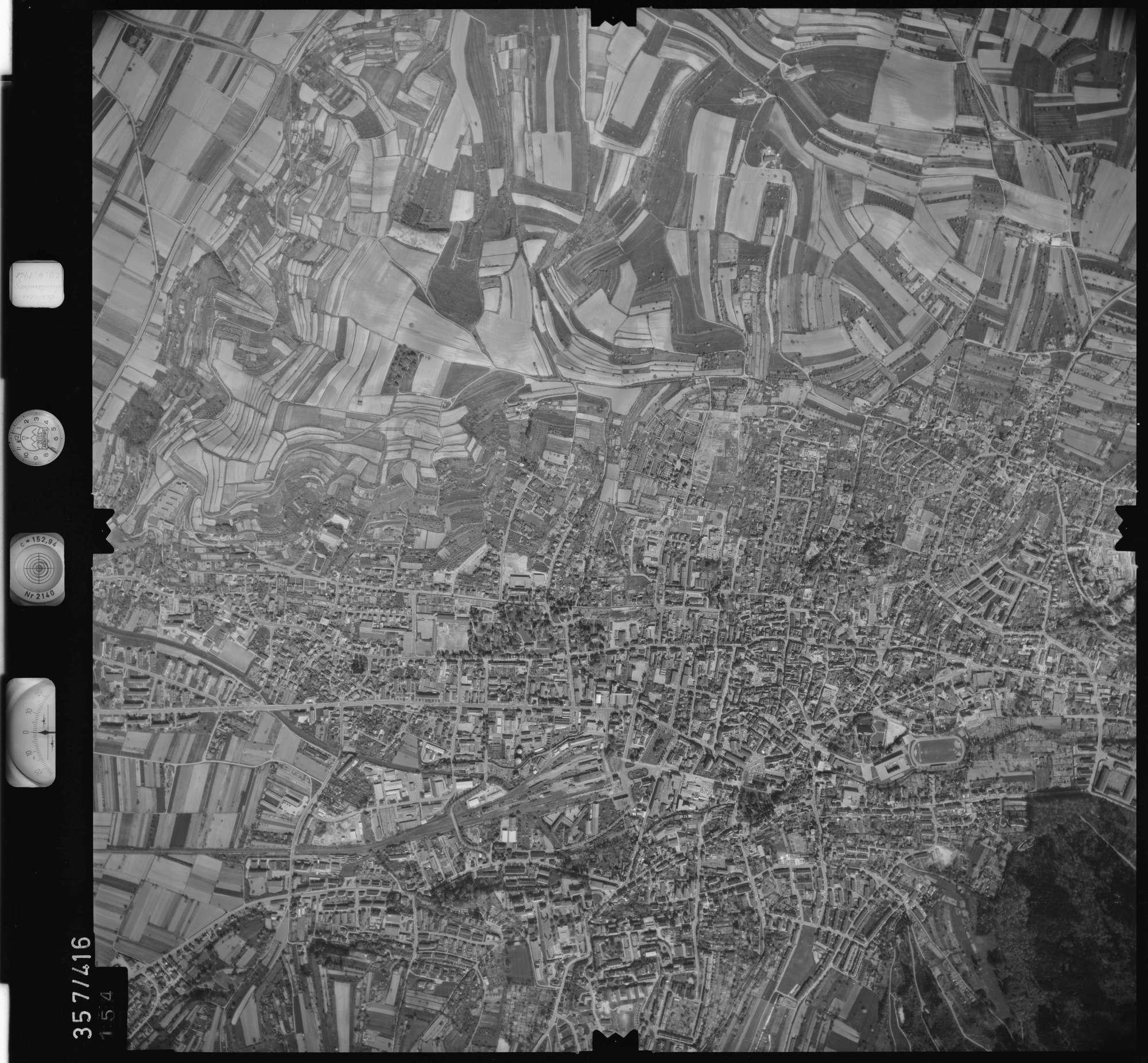 Luftbild: Film 11 Bildnr. 154, Bild 1