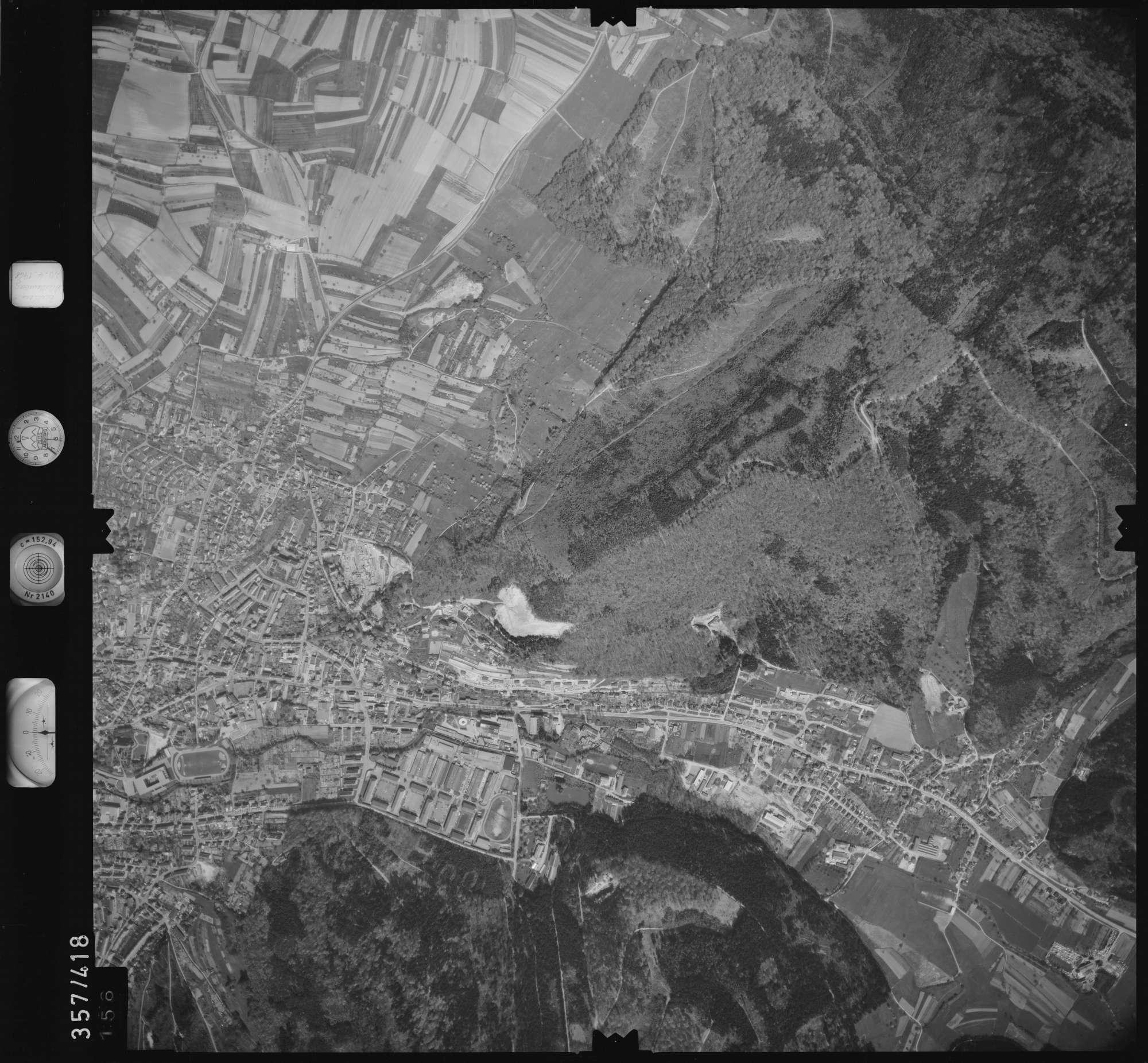 Luftbild: Film 11 Bildnr. 156, Bild 1