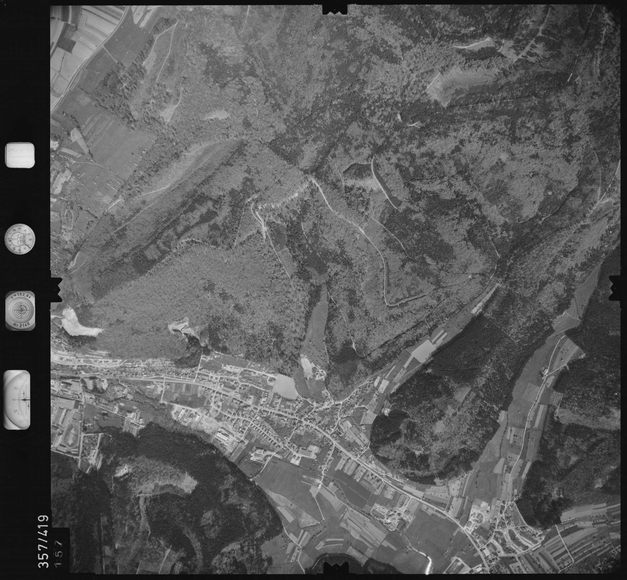 Luftbild: Film 11 Bildnr. 157, Bild 1
