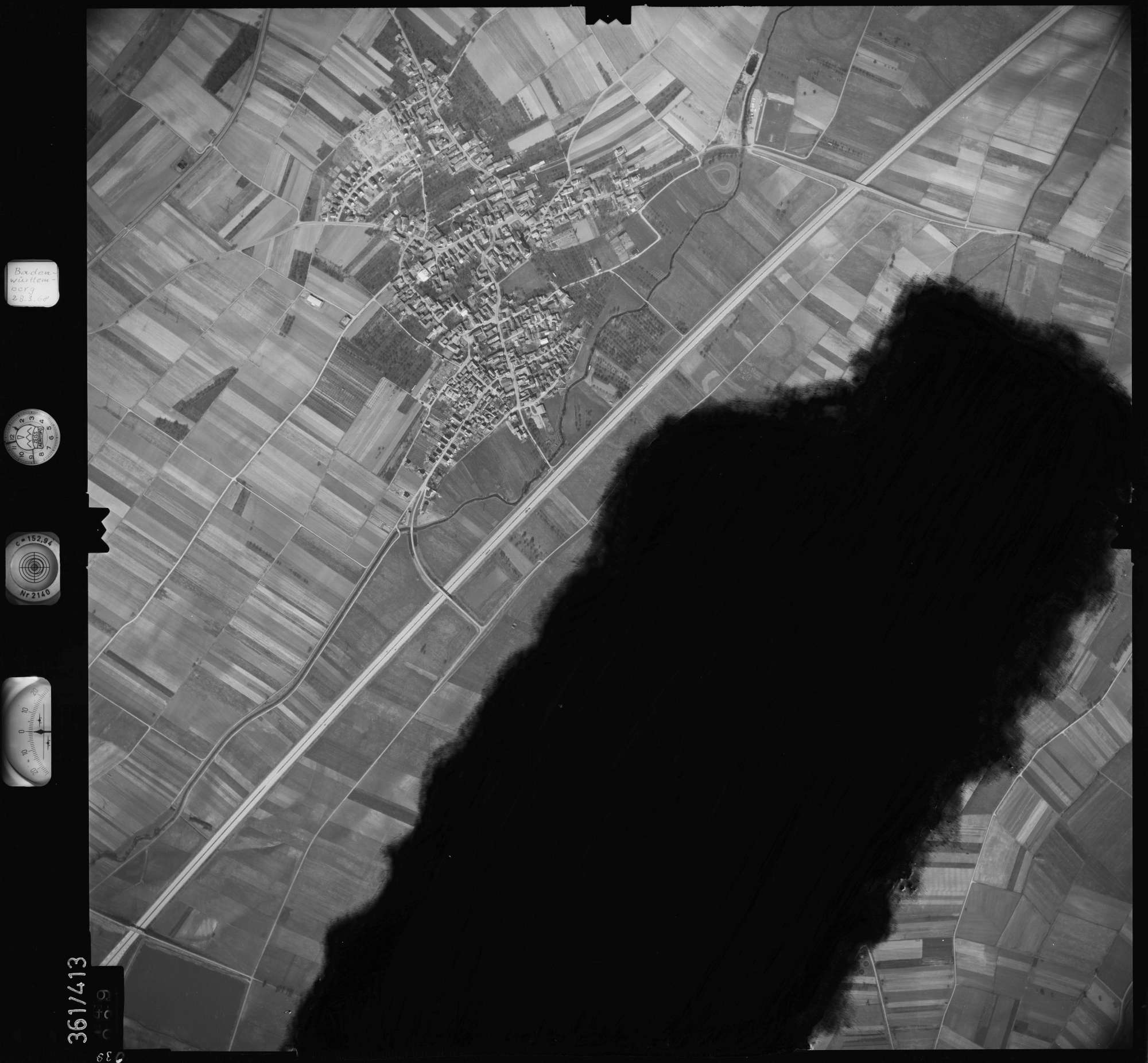 Luftbild: Film 36 Bildnr. 39, Bild 1