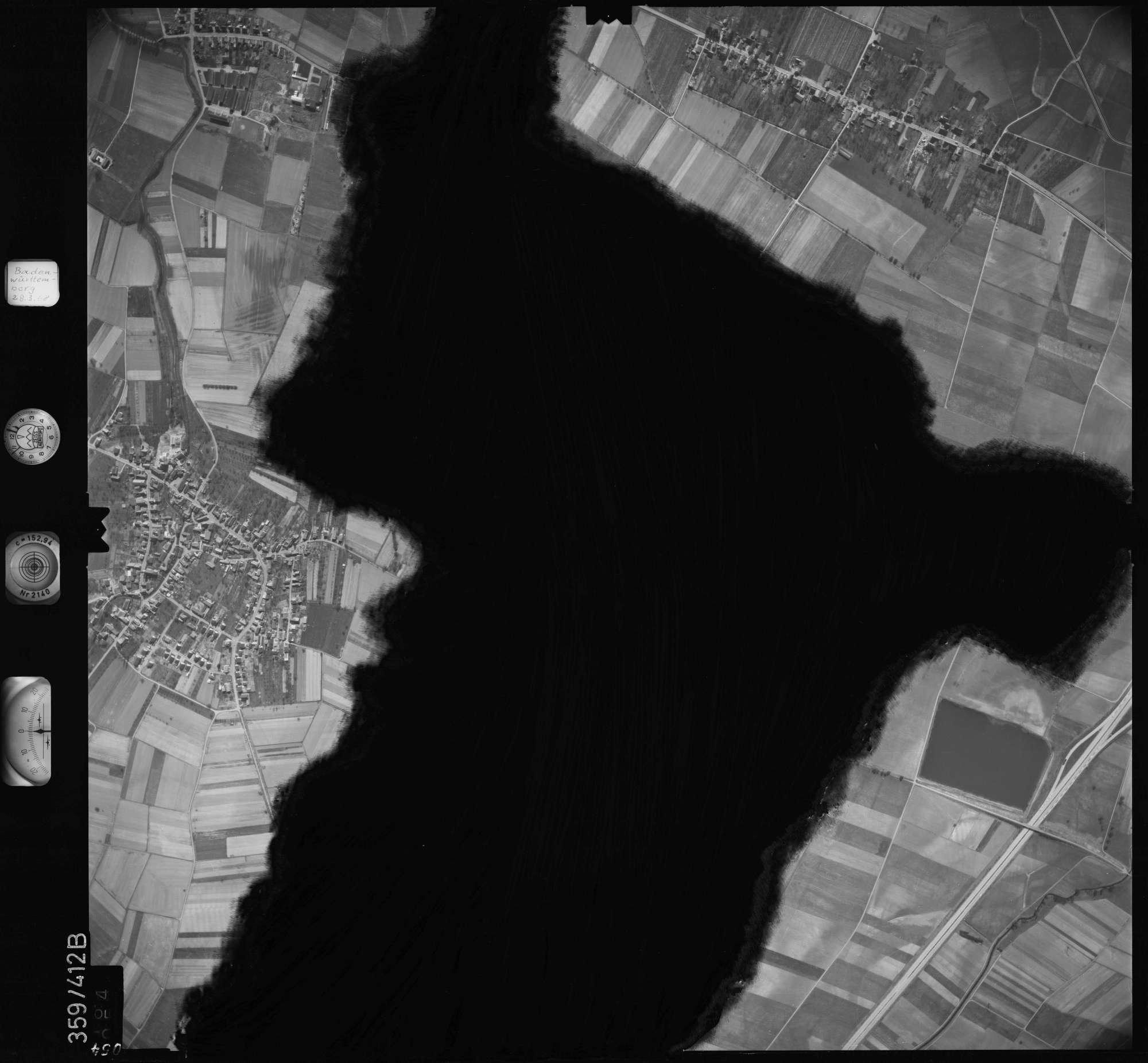 Luftbild: Film 36 Bildnr. 54, Bild 1