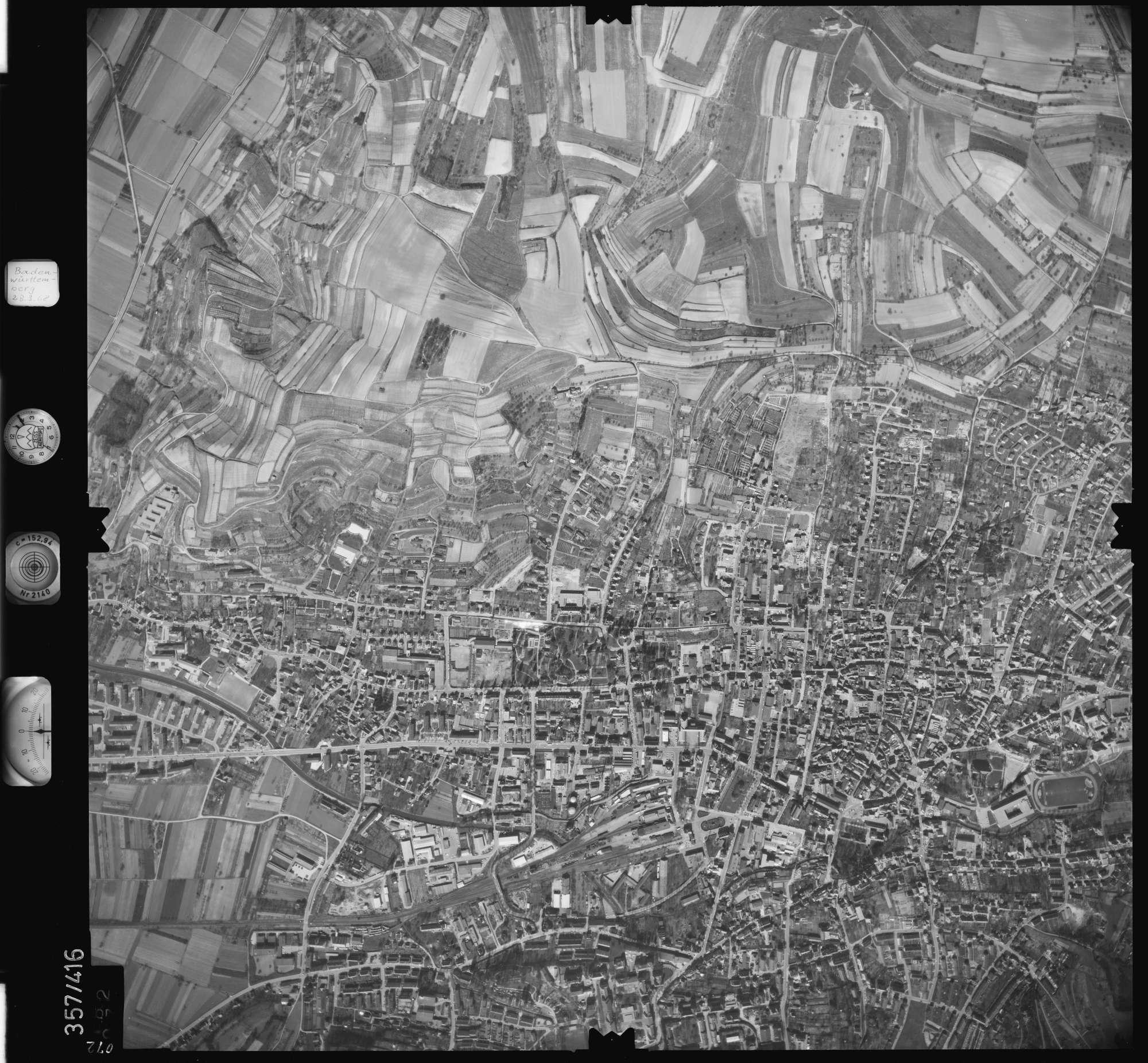 Luftbild: Film 36 Bildnr. 72, Bild 1