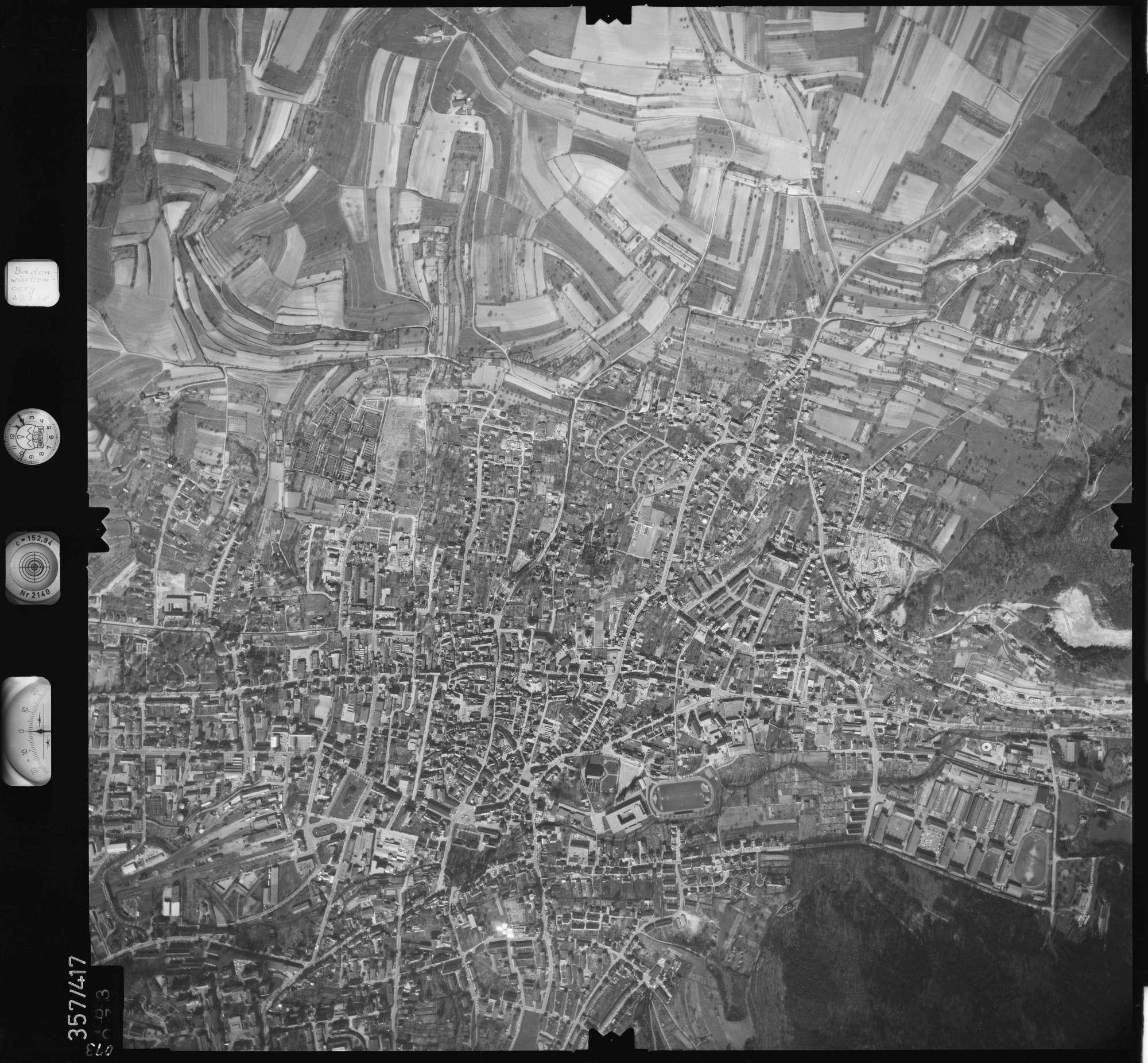 Luftbild: Film 36 Bildnr. 73, Bild 1