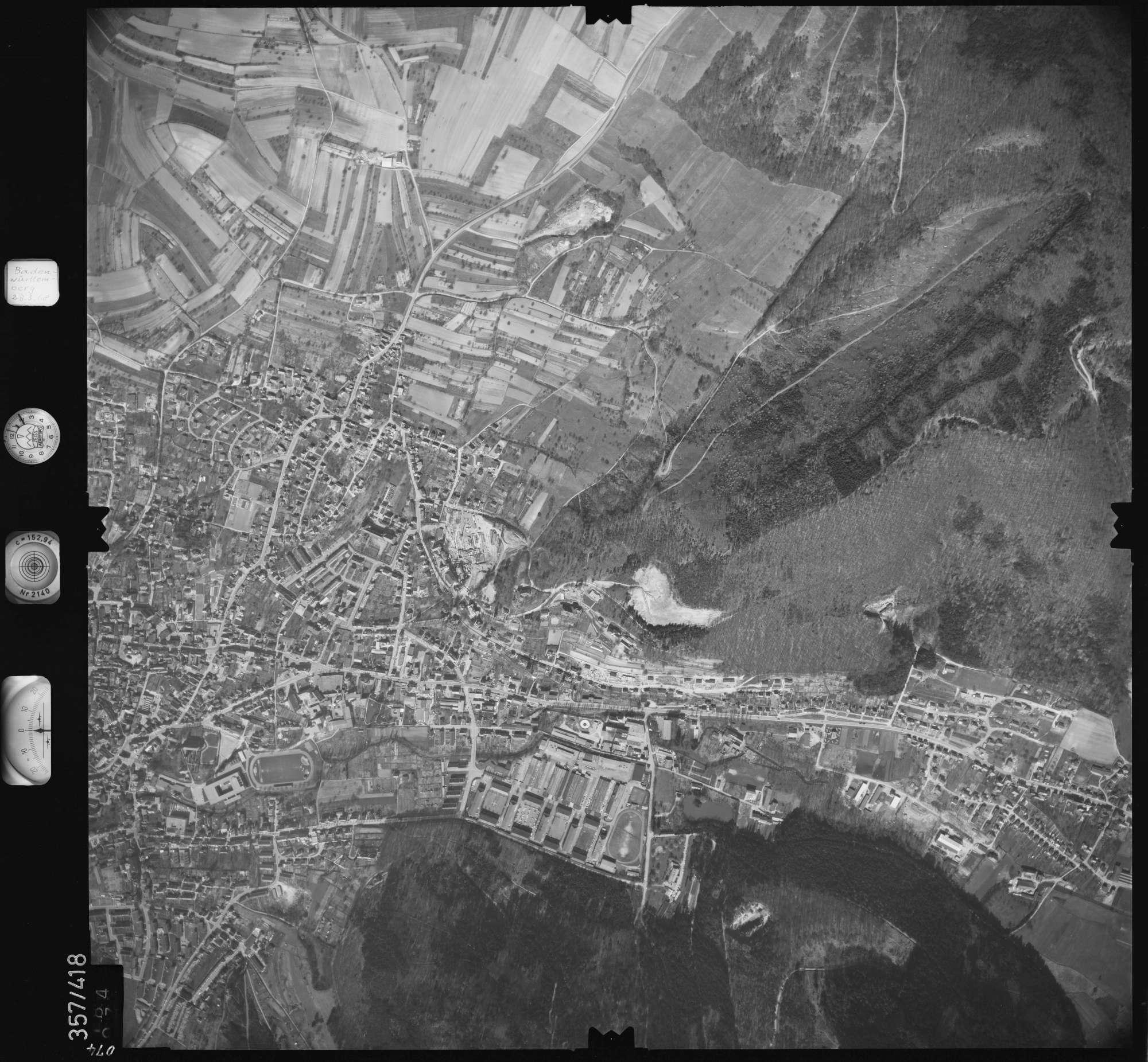 Luftbild: Film 36 Bildnr. 74, Bild 1