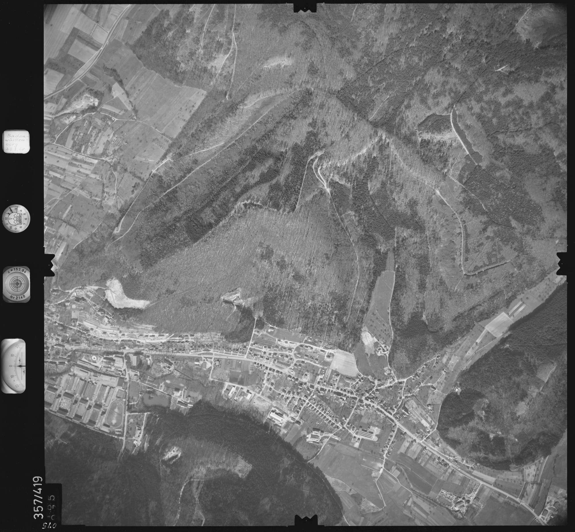 Luftbild: Film 36 Bildnr. 75, Bild 1