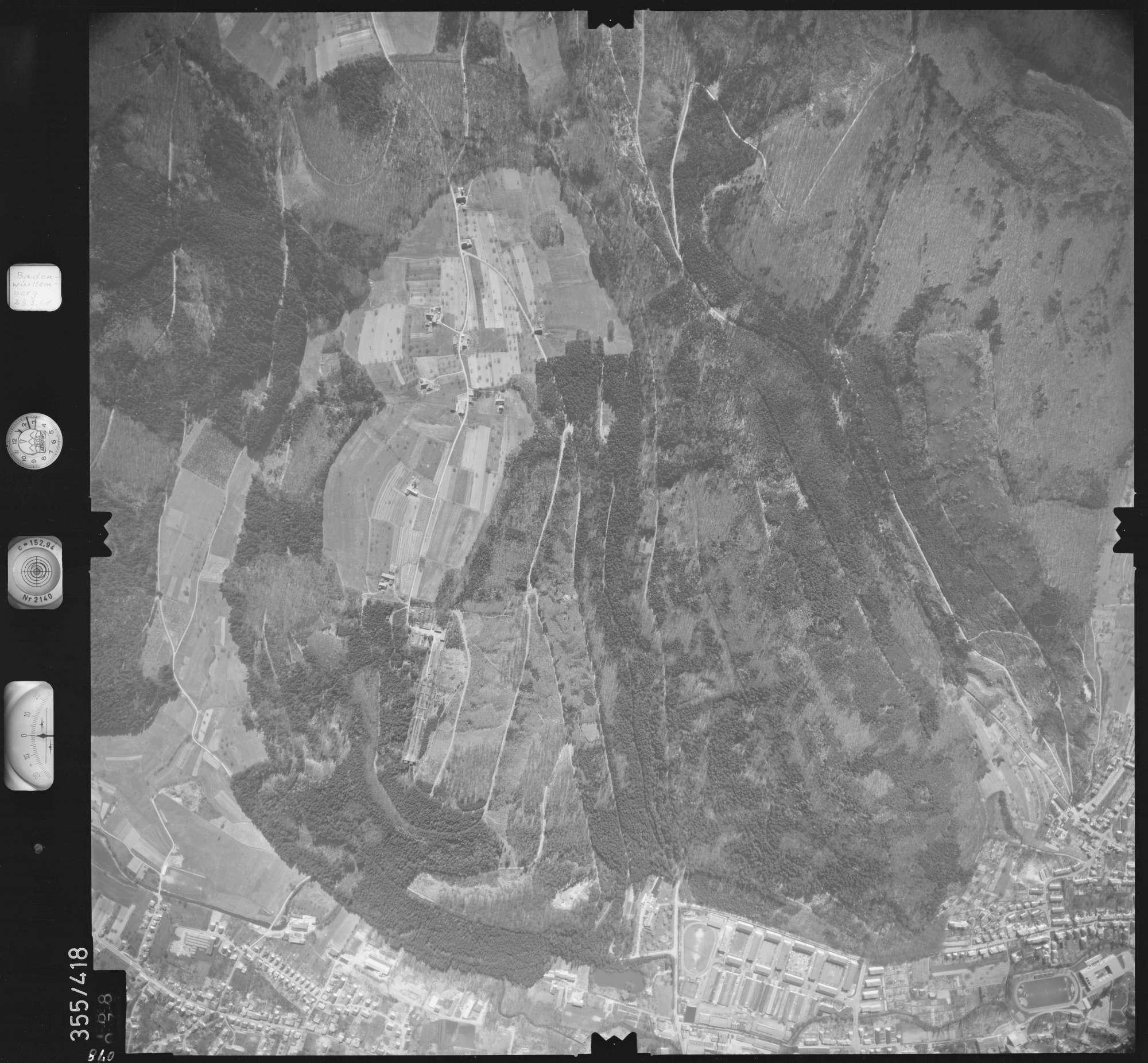 Luftbild: Film 36 Bildnr. 78, Bild 1