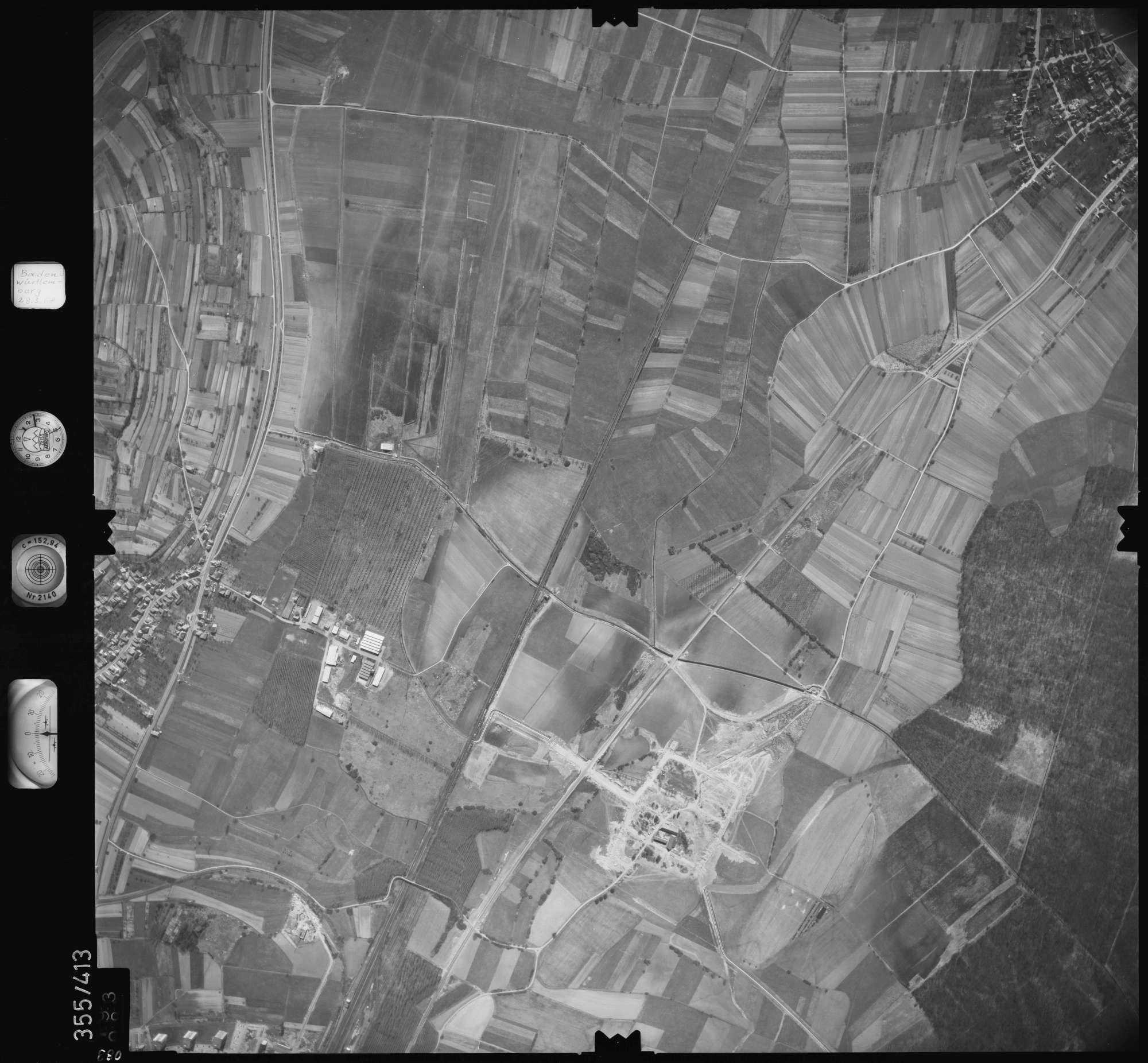 Luftbild: Film 36 Bildnr. 83, Bild 1