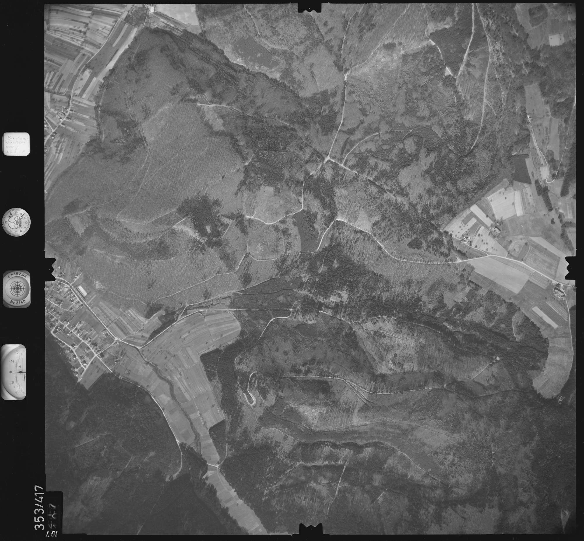 Luftbild: Film 36 Bildnr. 107, Bild 1