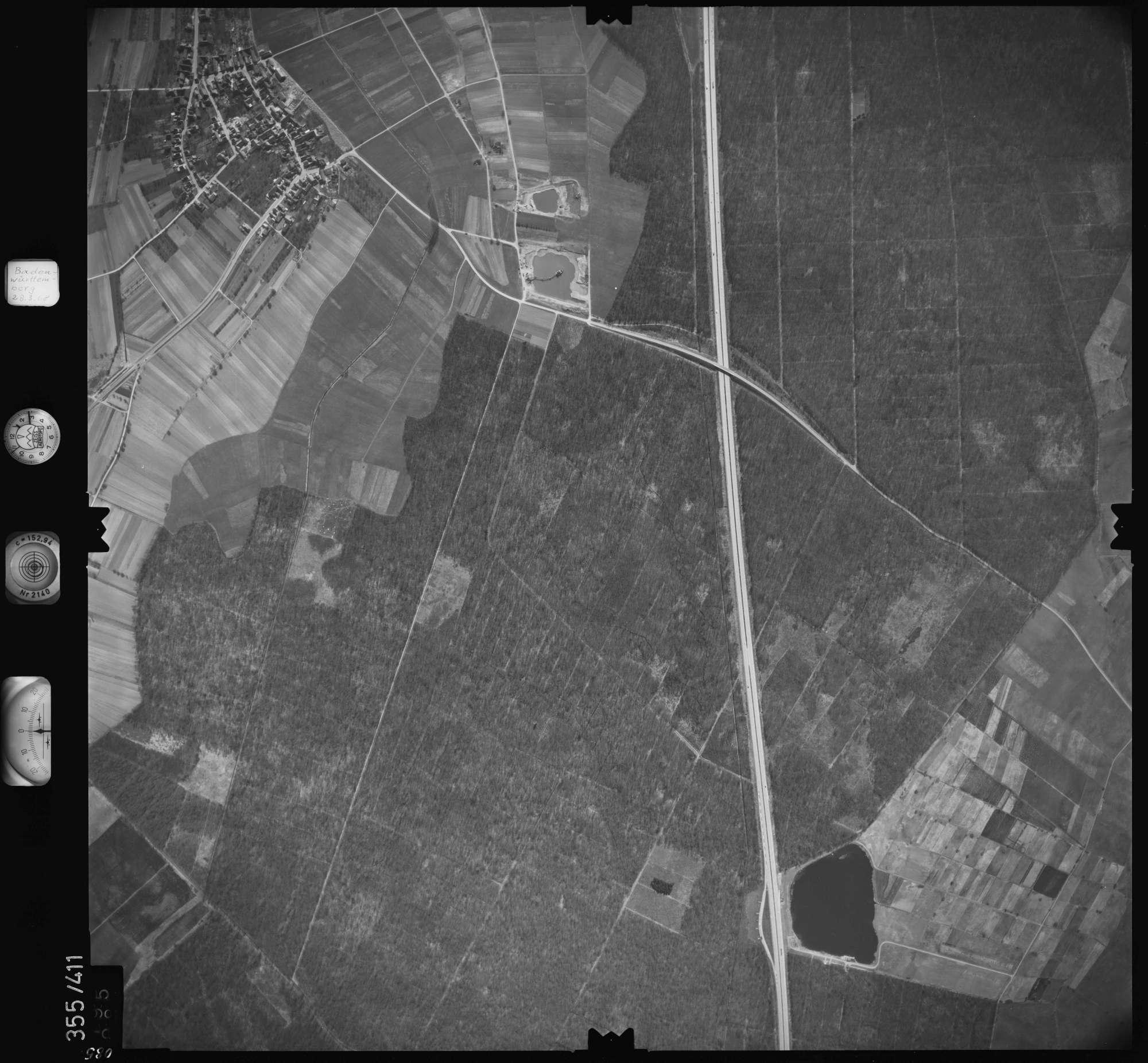 Luftbild: Film 36 Bildnr. 85, Bild 1