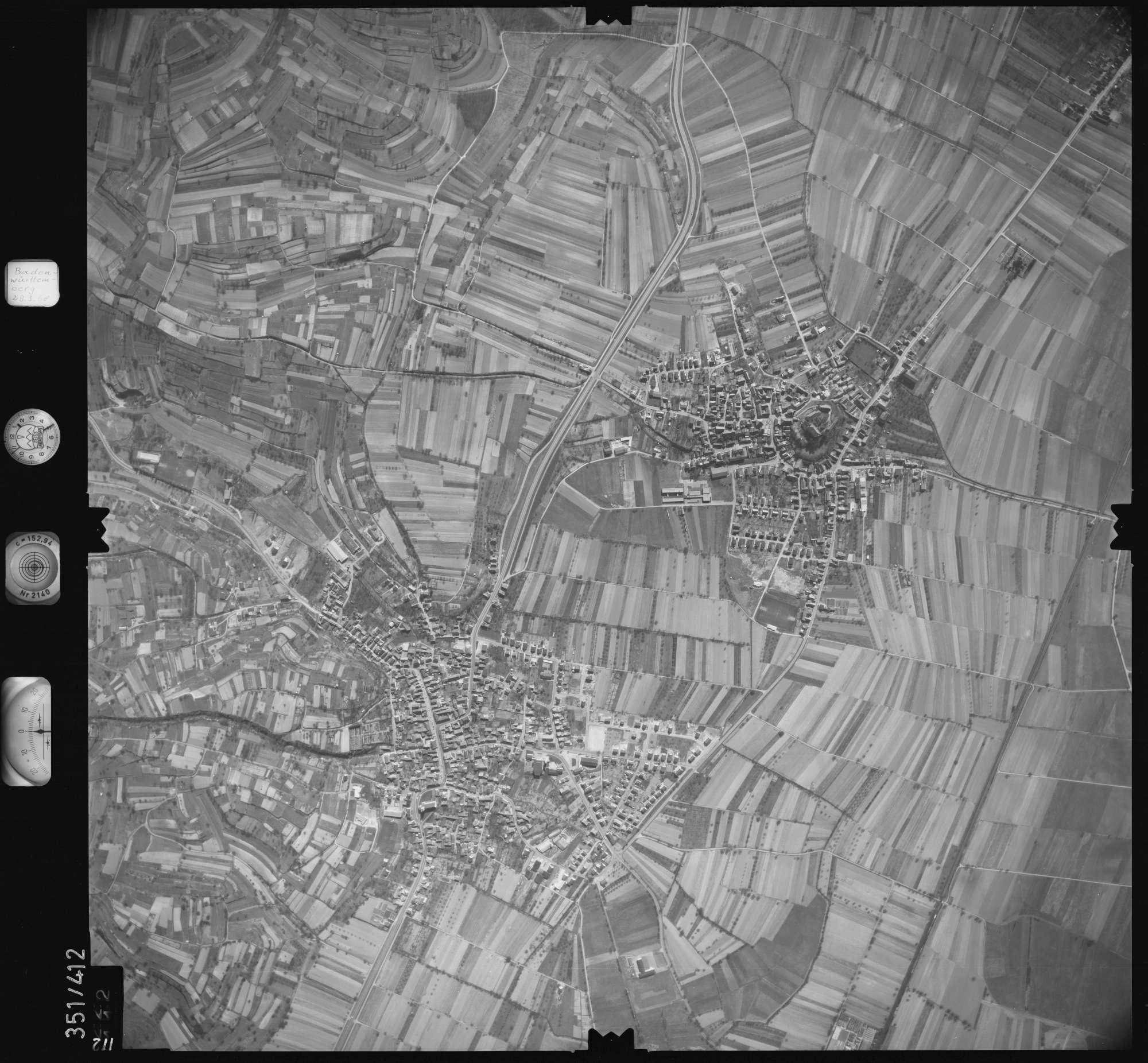 Luftbild: Film 36 Bildnr. 112, Bild 1