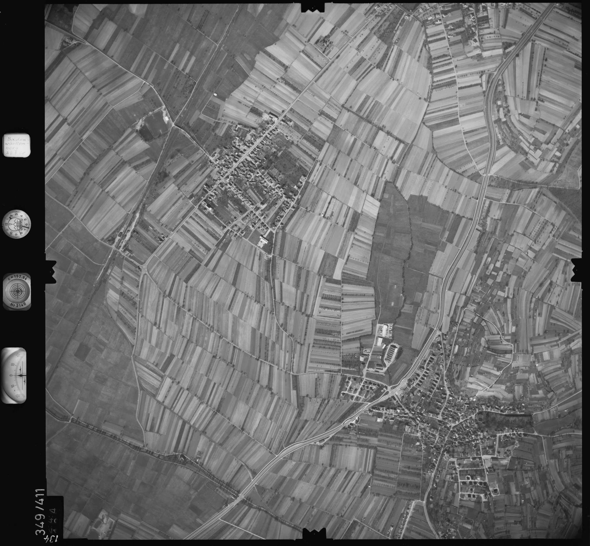Luftbild: Film 36 Bildnr. 134, Bild 1