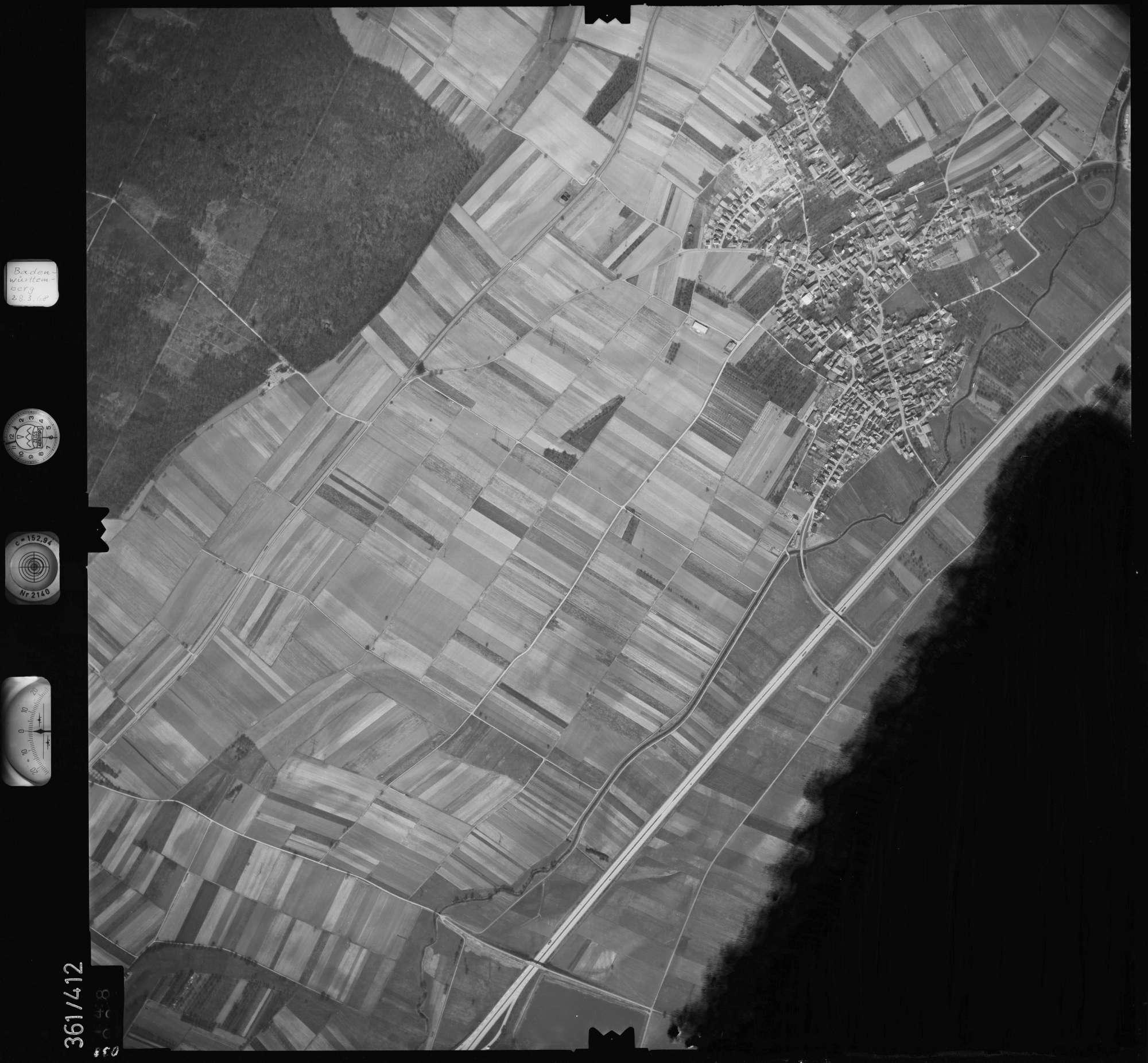 Luftbild: Film 36 Bildnr. 38, Bild 1