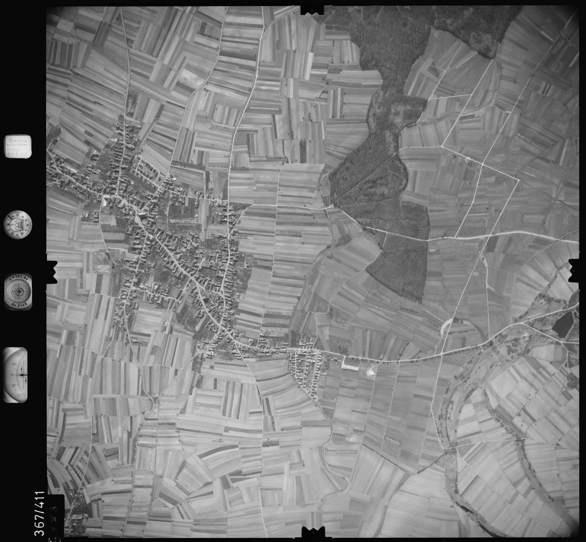Luftbild: Film 28 Bildnr. 453, Bild 1