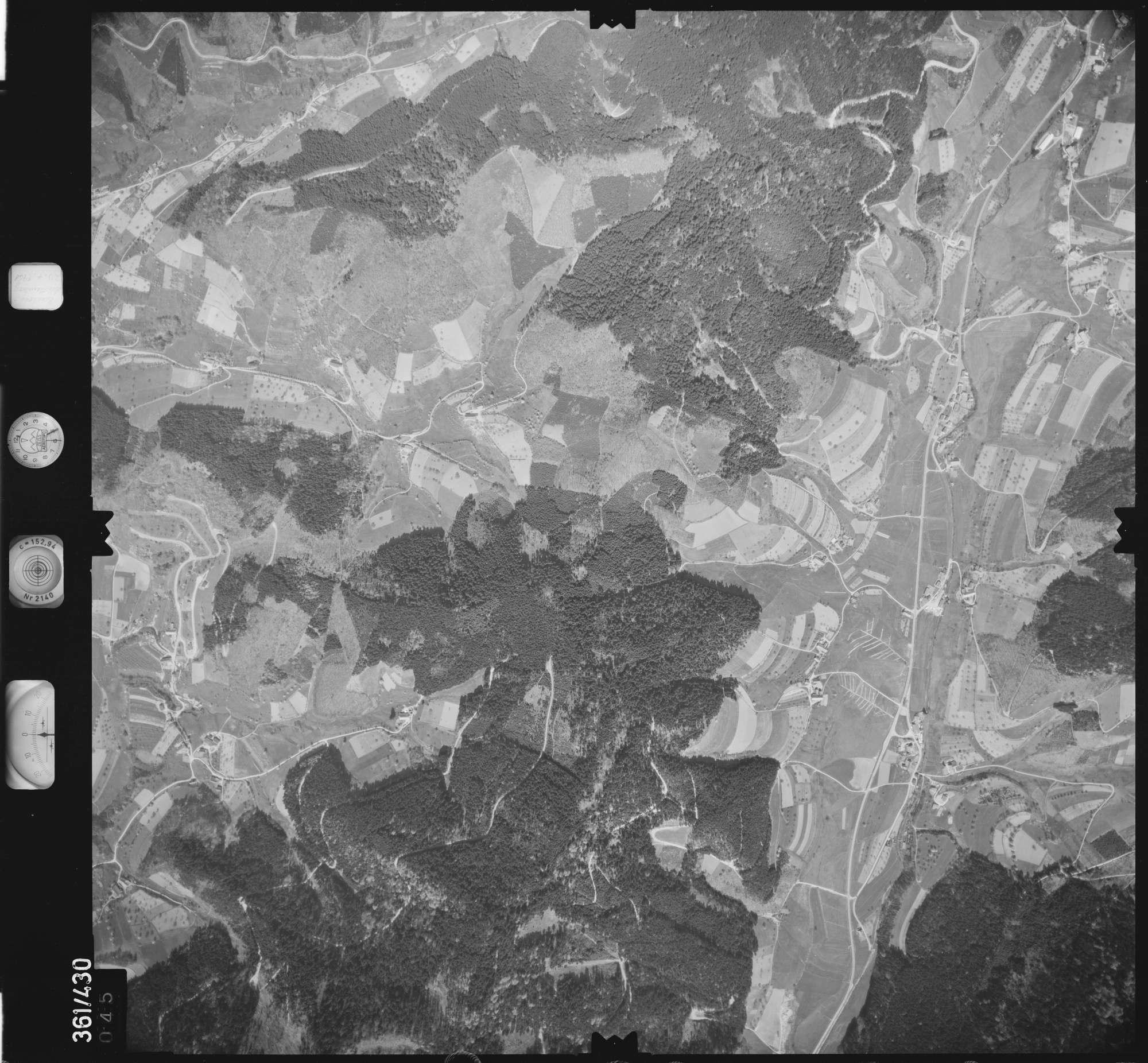 Luftbild: Film 15 Bildnr. 45, Bild 1