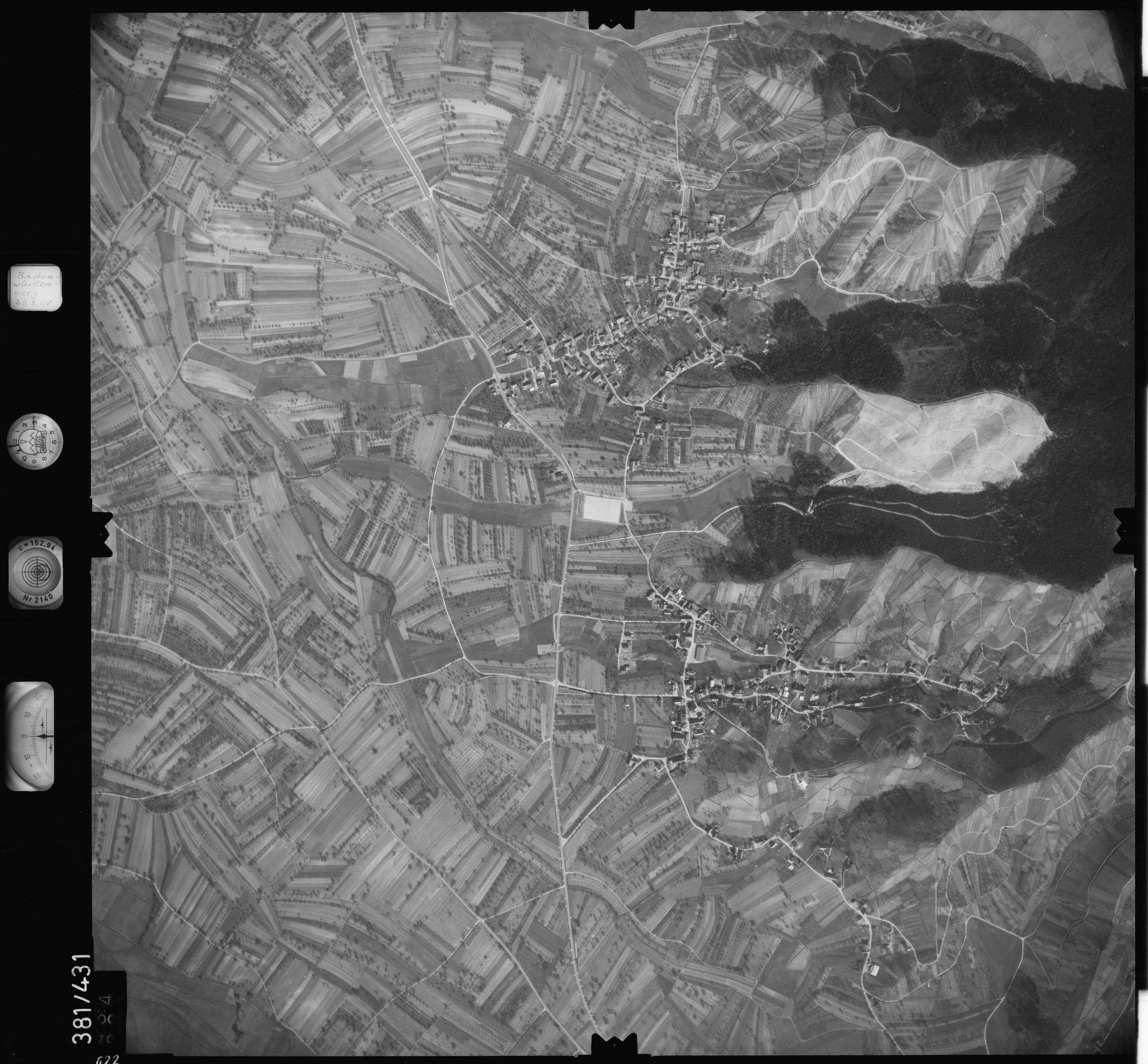 Luftbild: Film 24 Bildnr. 622, Bild 1