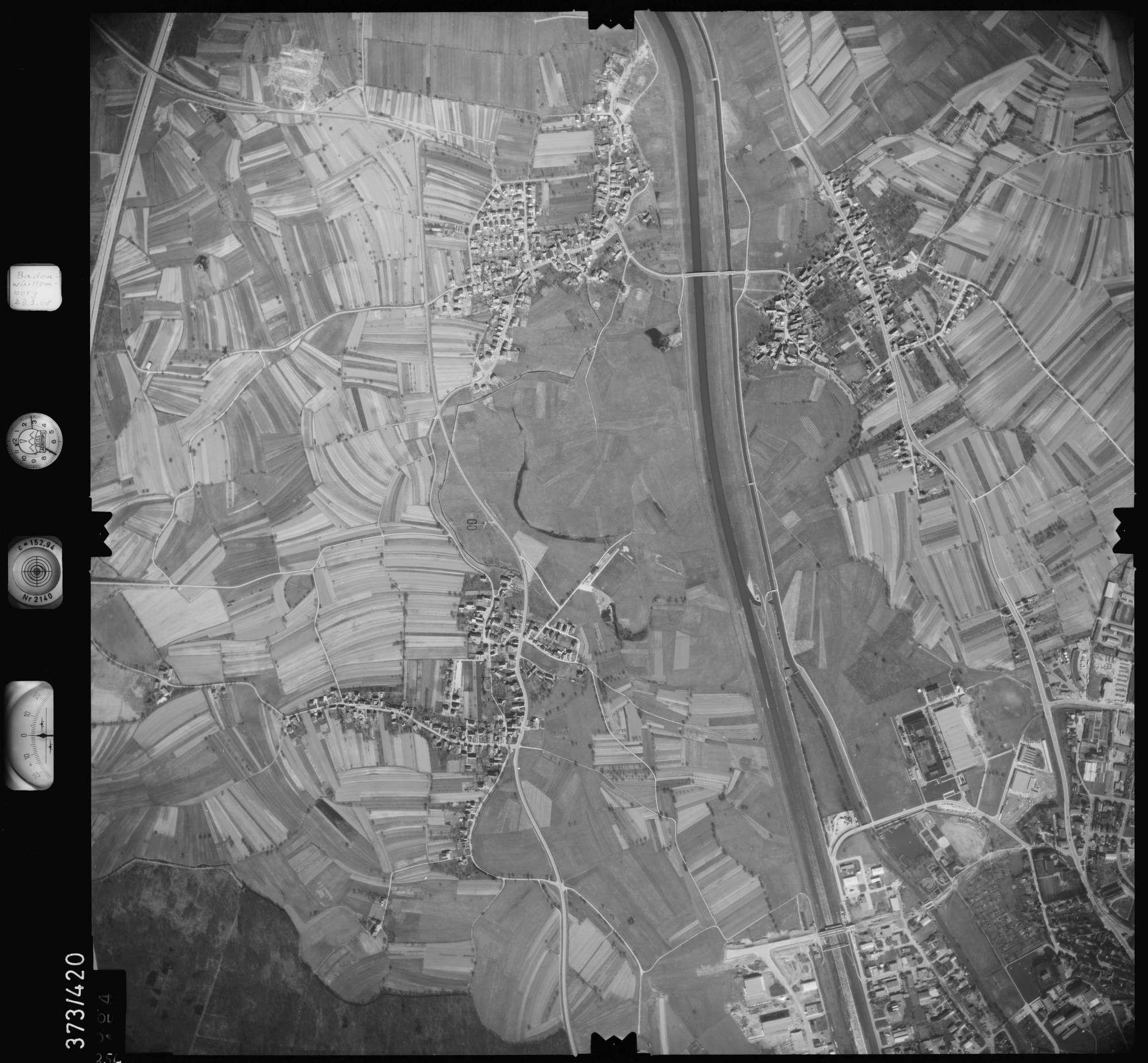 Luftbild: Film 28 Bildnr. 354, Bild 1