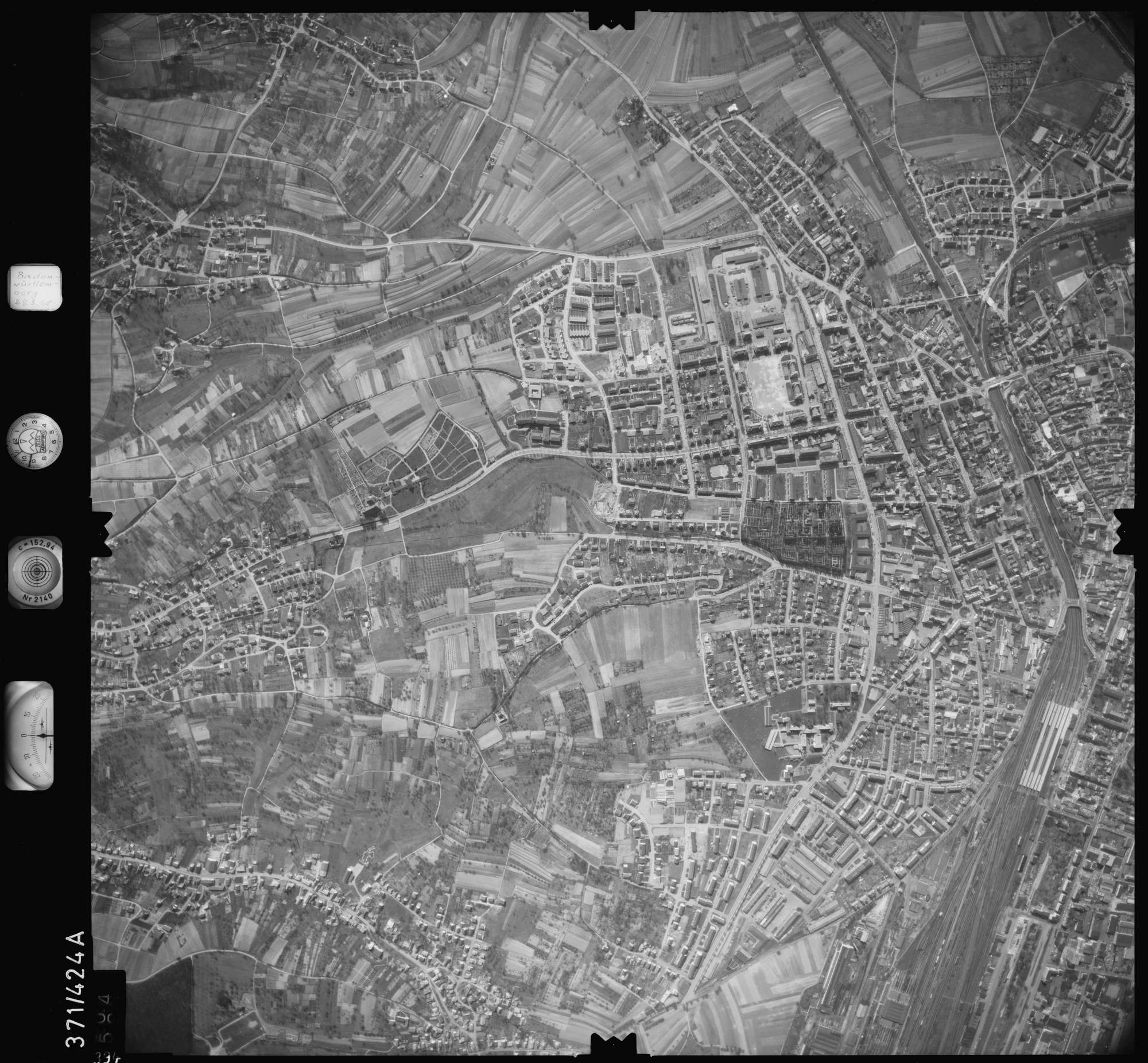 Luftbild: Film 28 Bildnr. 394, Bild 1
