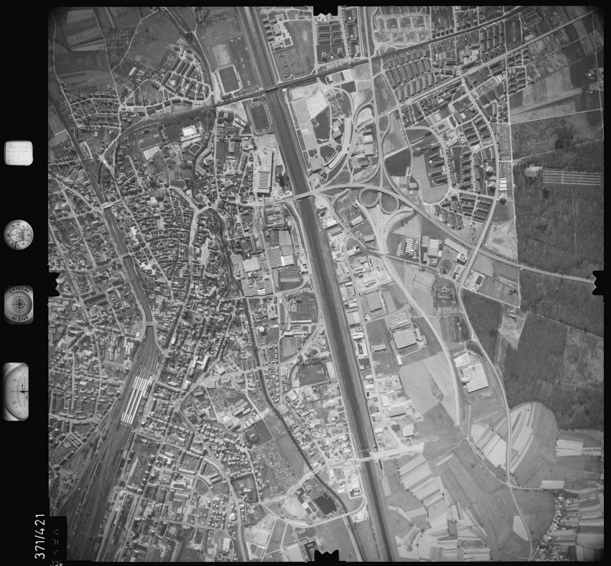 Luftbild: Film 28 Bildnr. 396, Bild 1