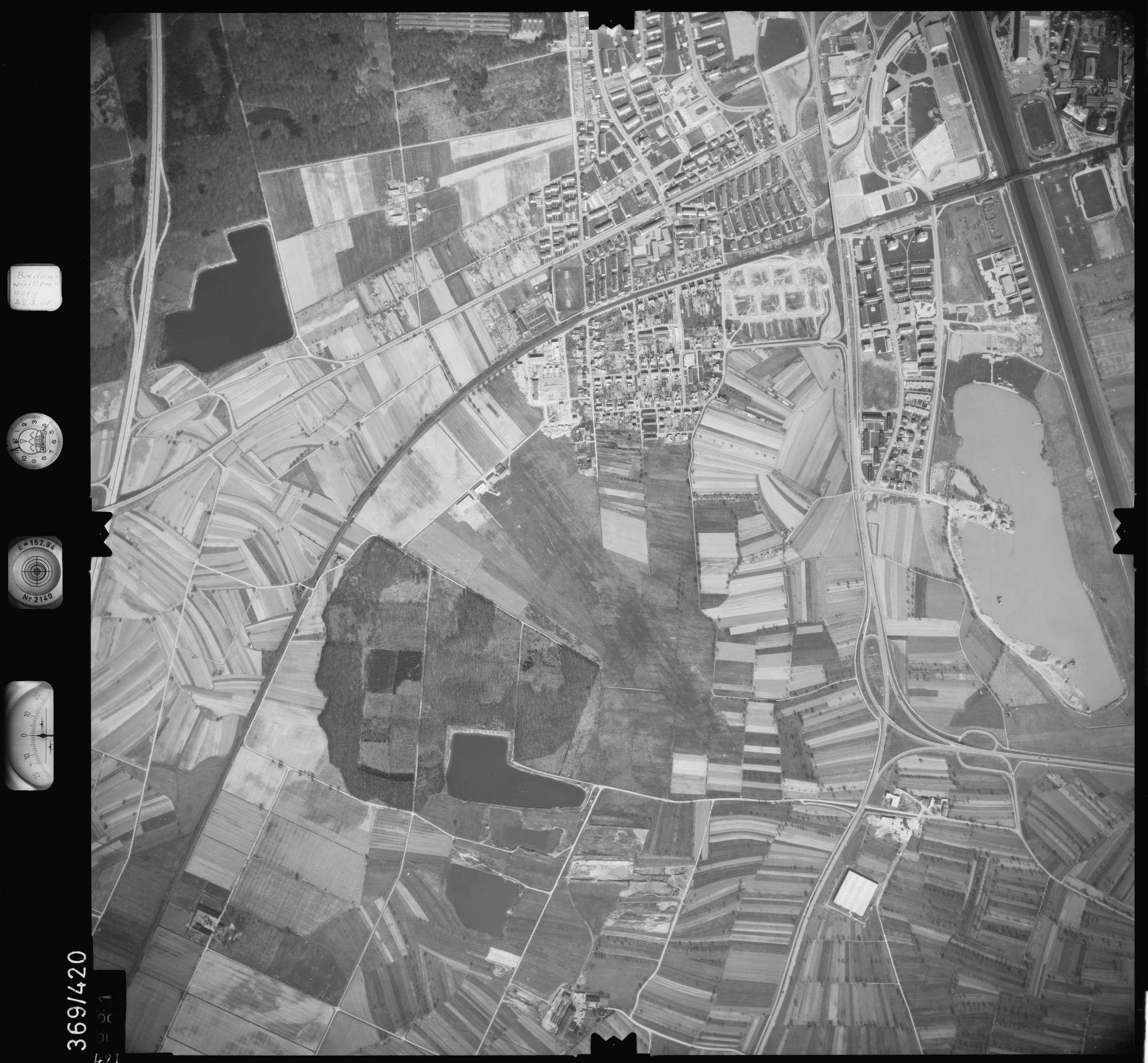 Luftbild: Film 28 Bildnr. 421, Bild 1