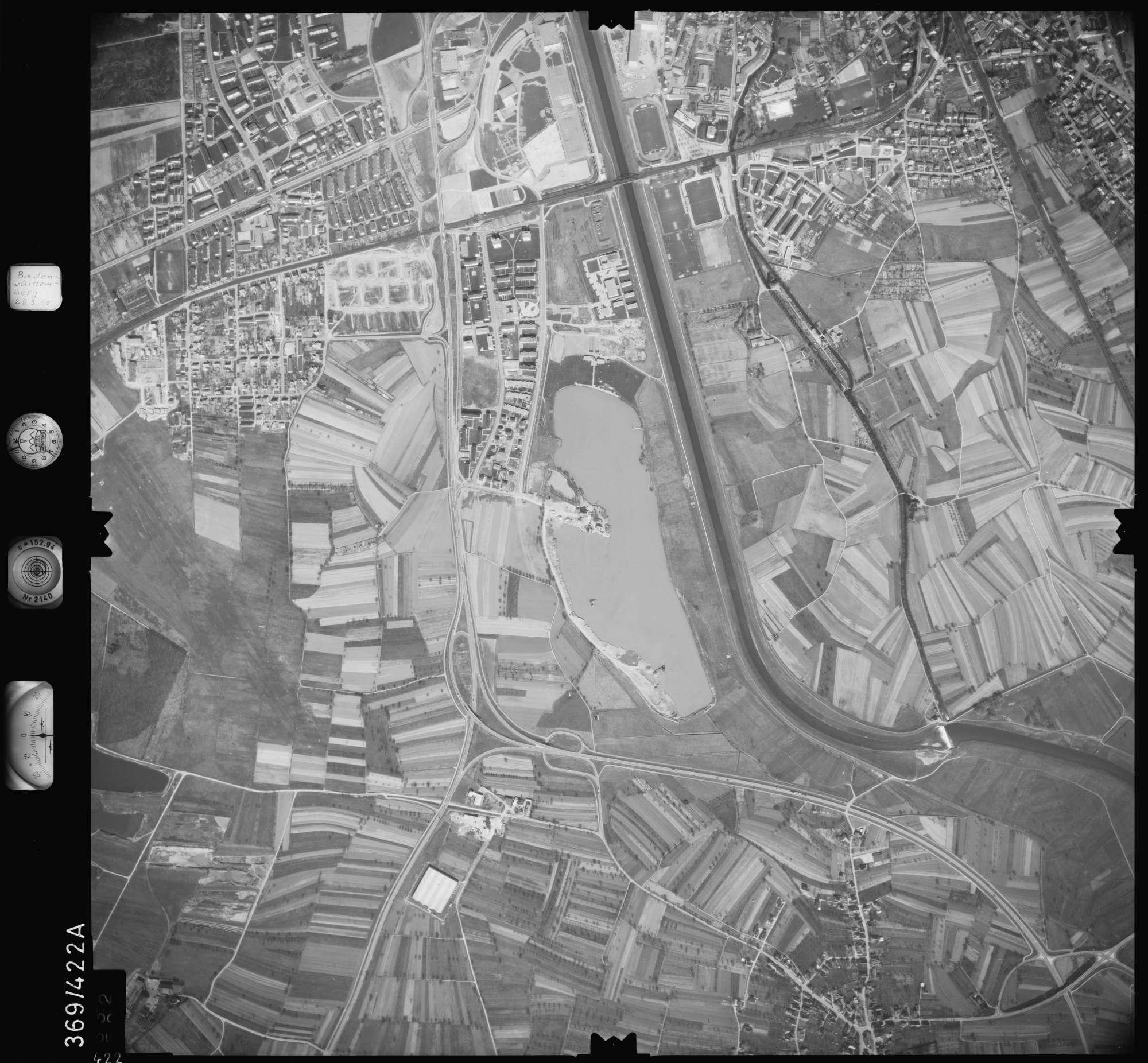 Luftbild: Film 28 Bildnr. 422, Bild 1