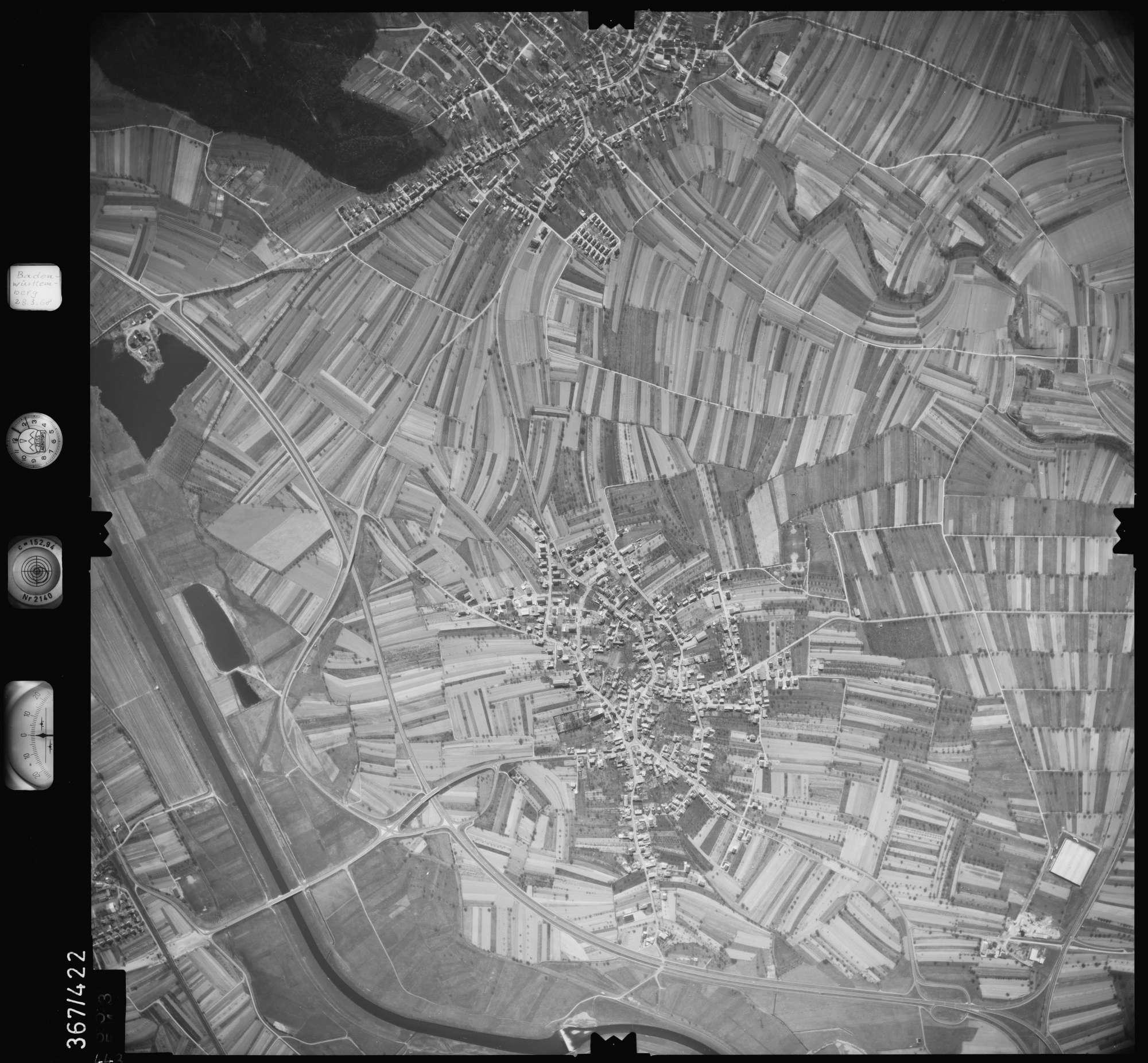 Luftbild: Film 28 Bildnr. 443, Bild 1