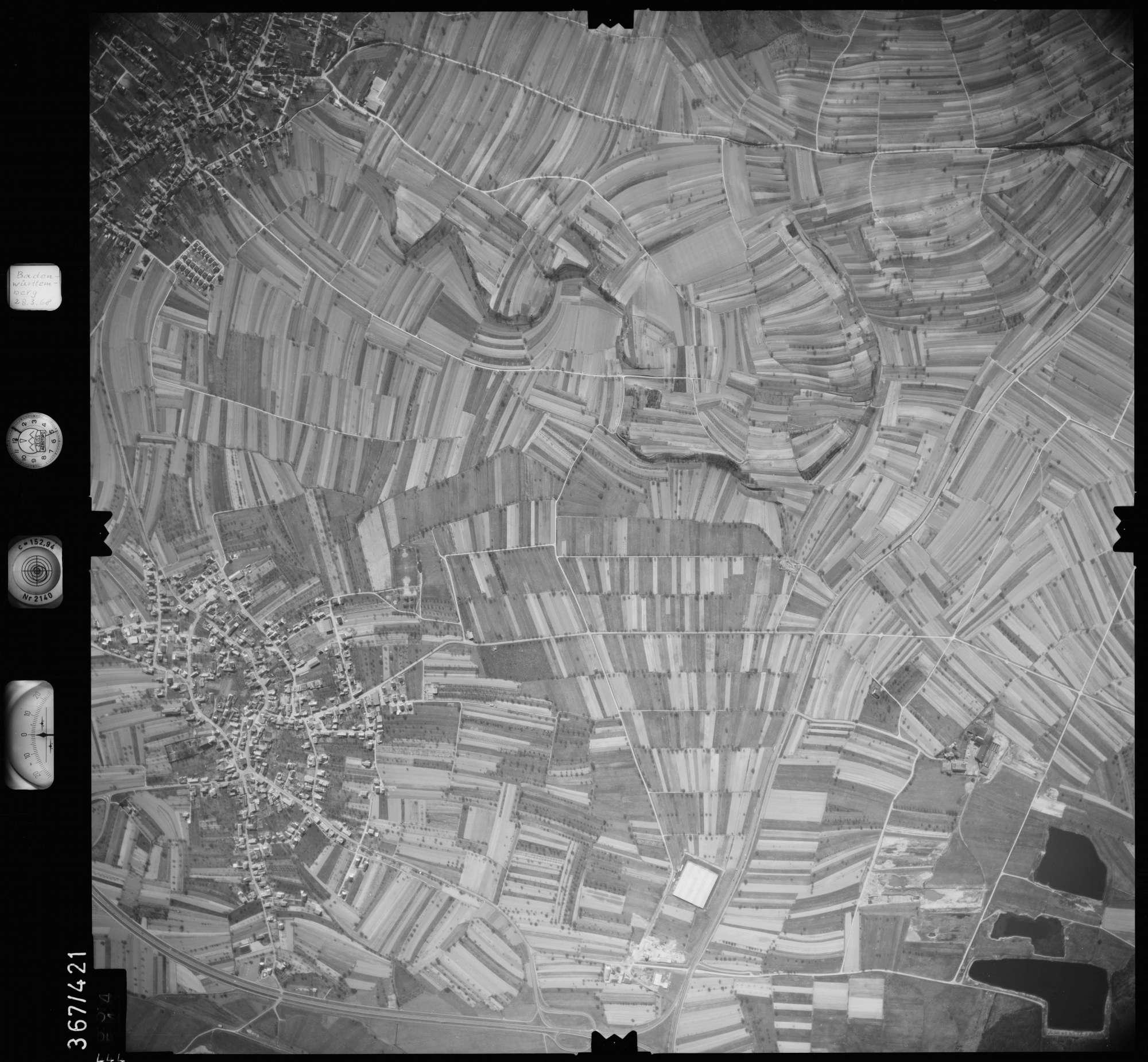 Luftbild: Film 28 Bildnr. 444, Bild 1