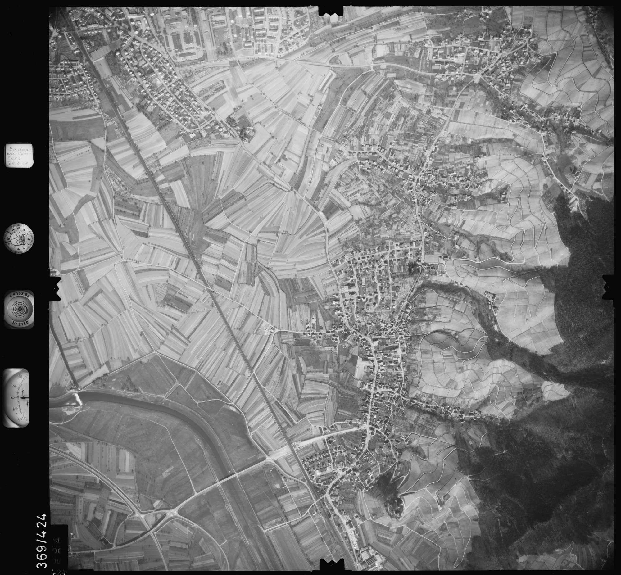 Luftbild: Film 28 Bildnr. 424, Bild 1
