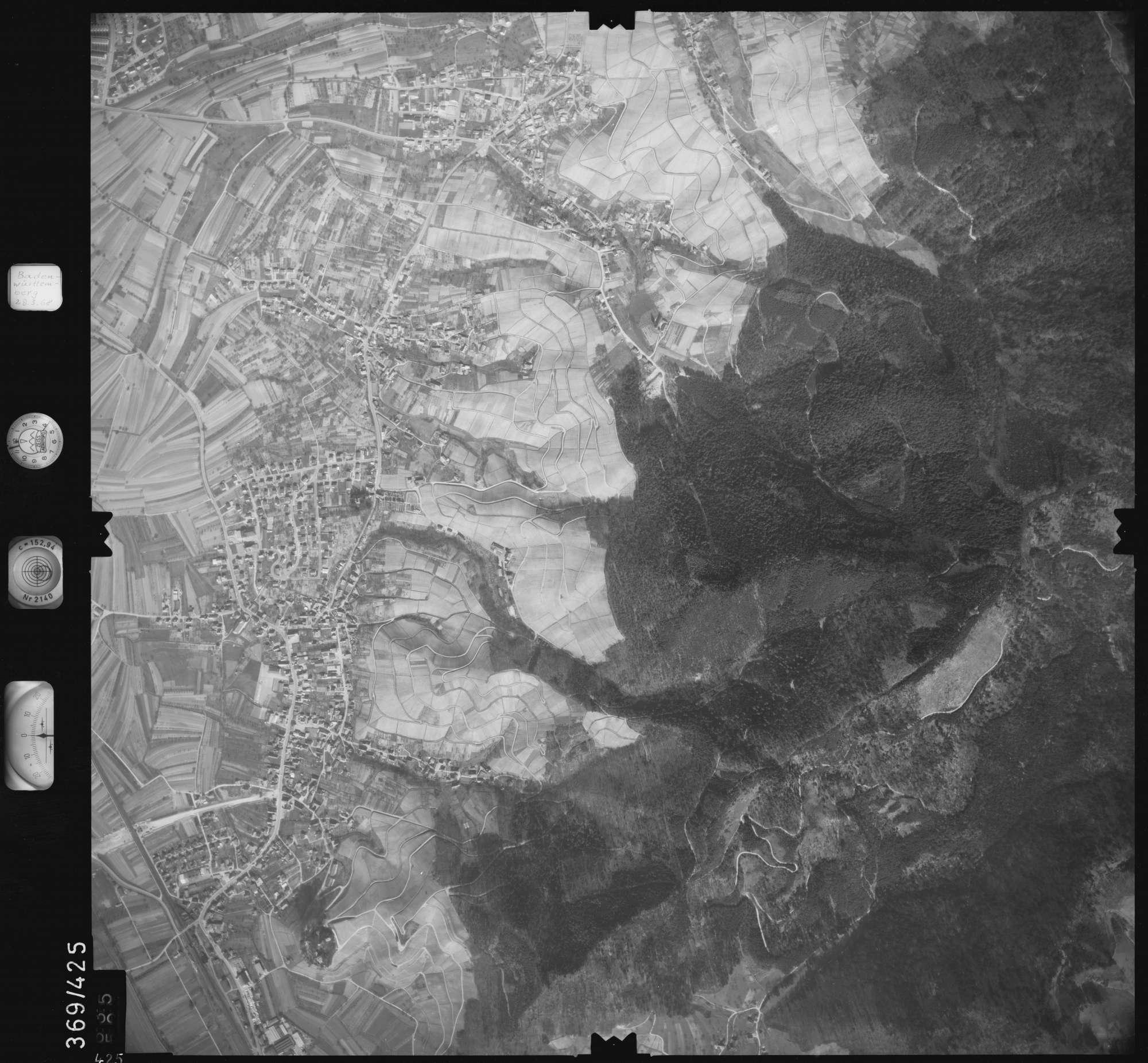 Luftbild: Film 28 Bildnr. 425, Bild 1