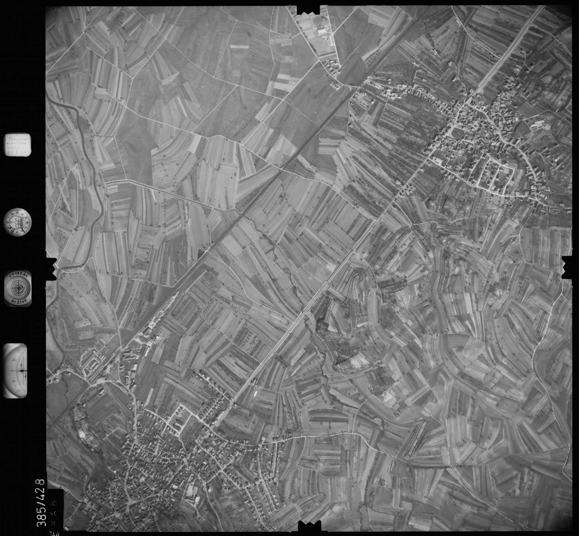 Luftbild: Film 24 Bildnr. 366, Bild 1