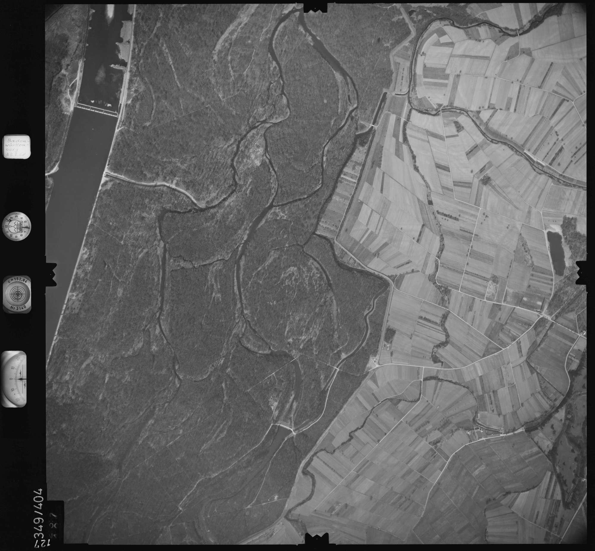 Luftbild: Film 36 Bildnr. 127, Bild 1
