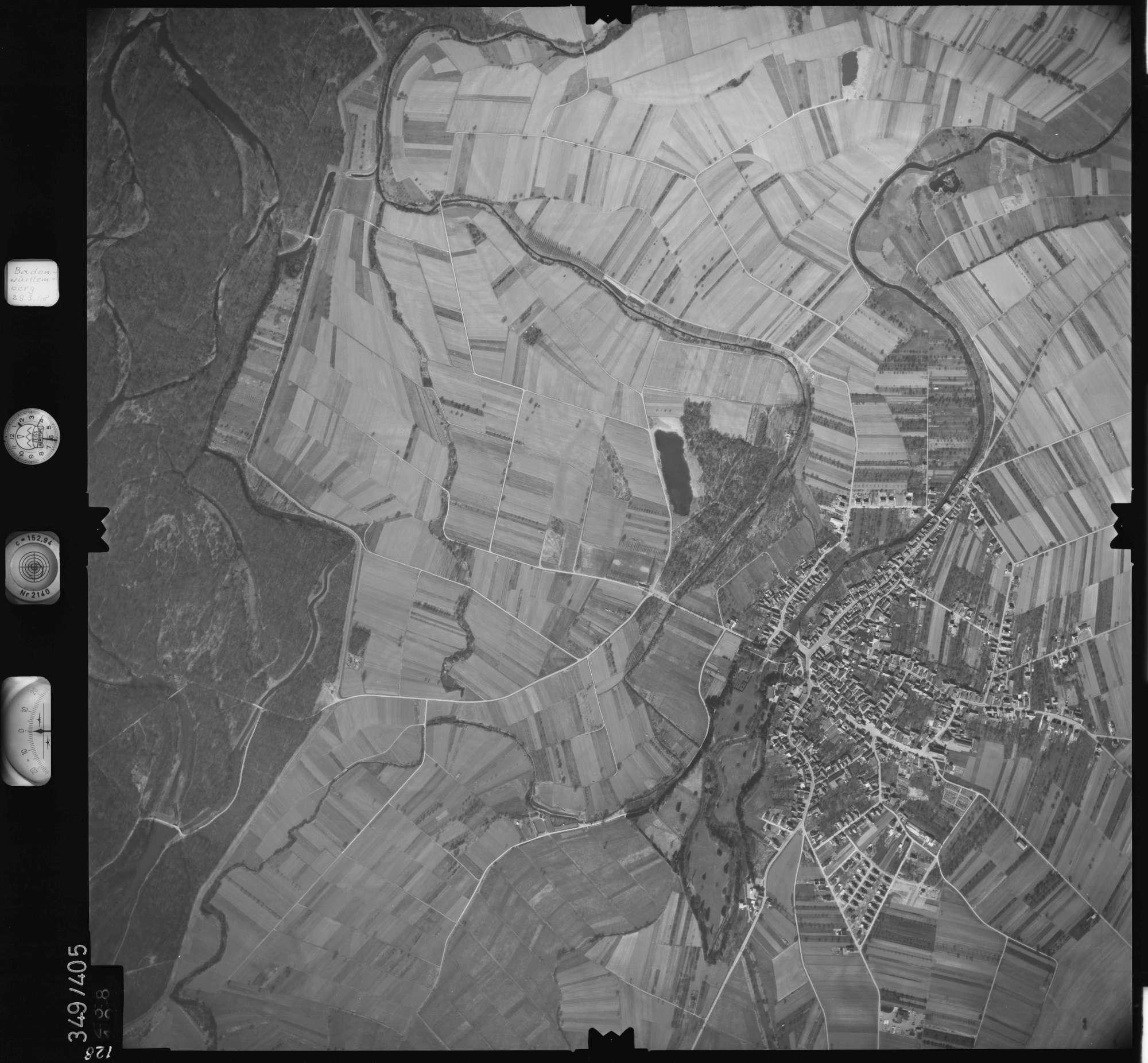 Luftbild: Film 36 Bildnr. 128, Bild 1