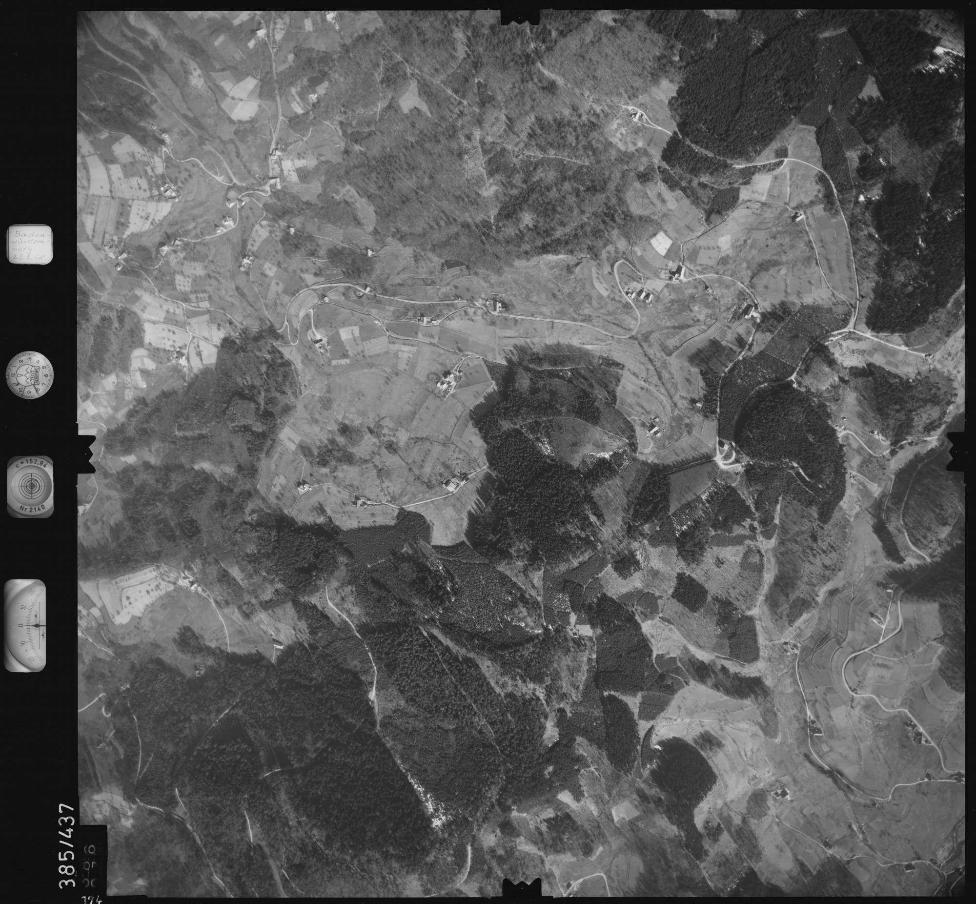 Luftbild: Film 24 Bildnr. 374, Bild 1