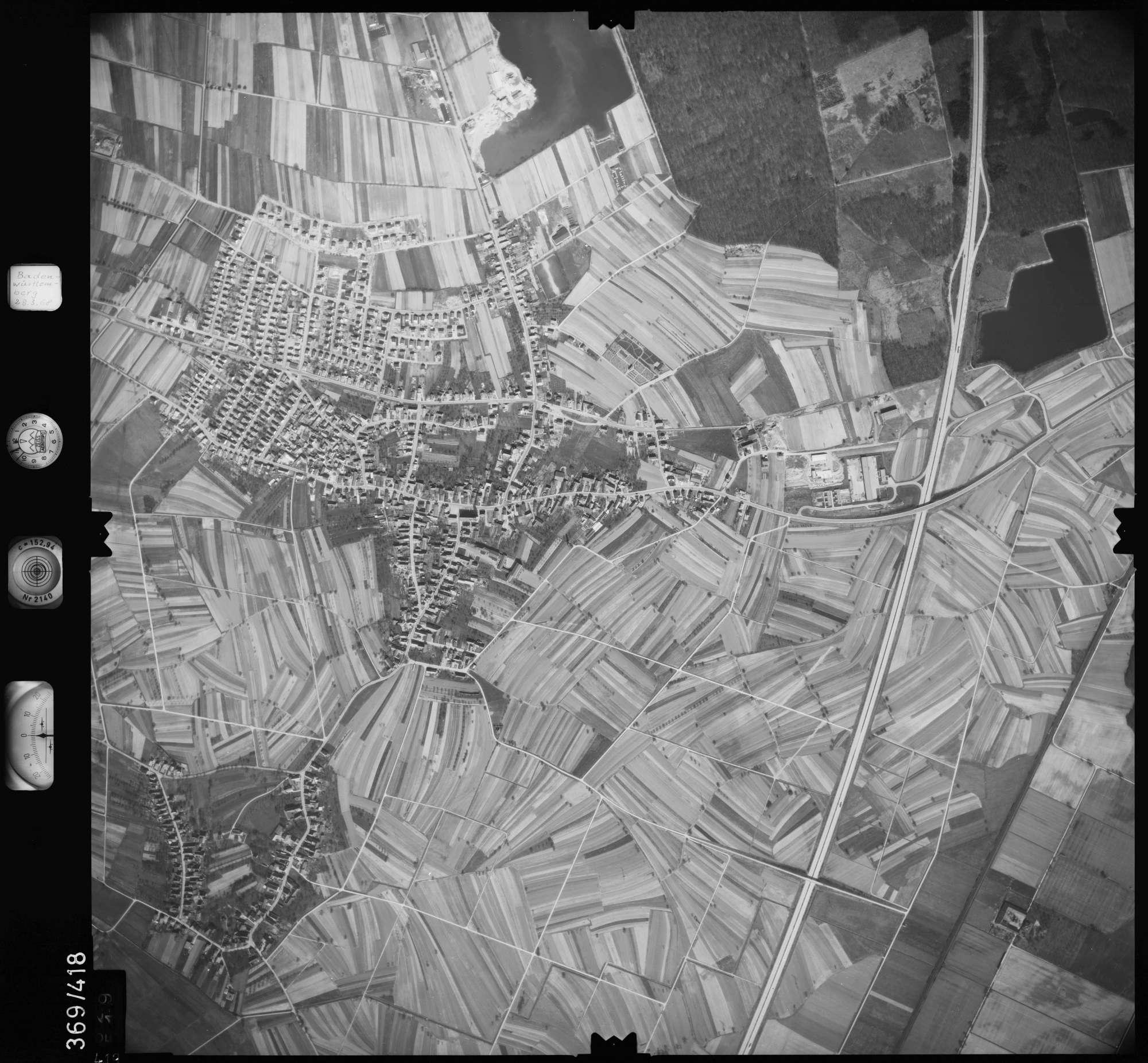 Luftbild: Film 28 Bildnr. 419, Bild 1