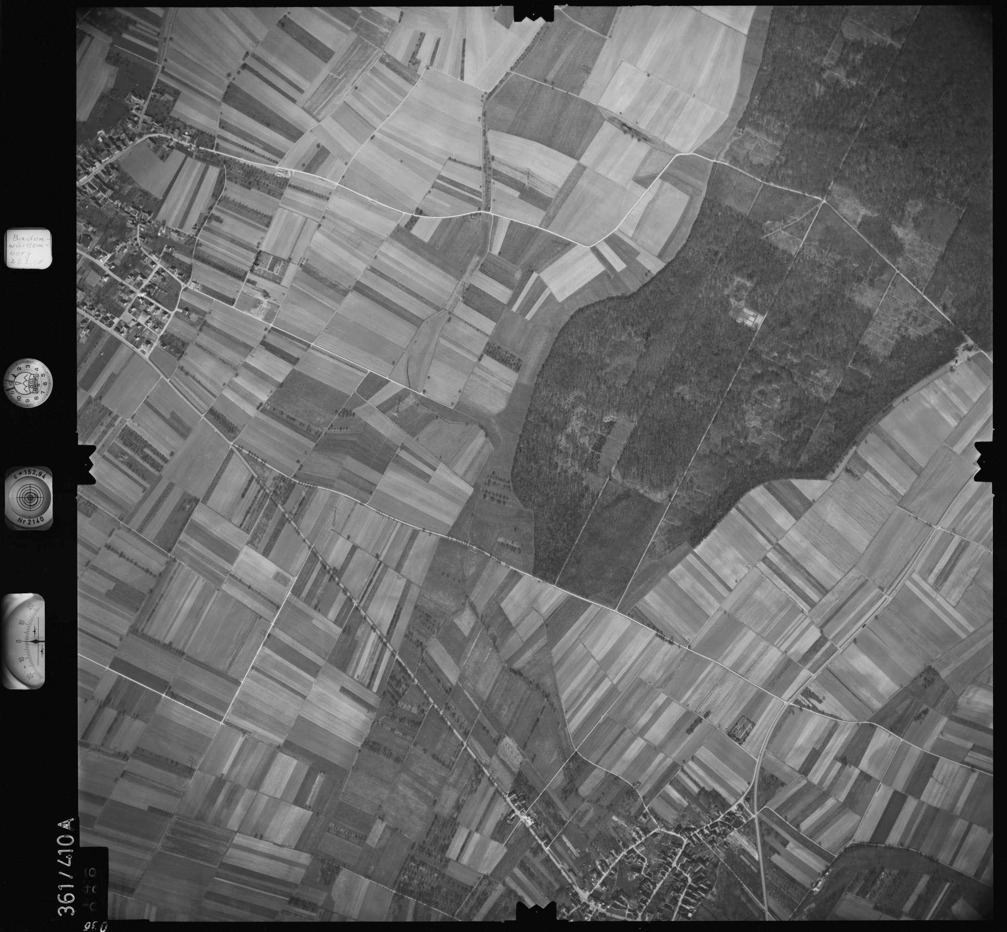 Luftbild: Film 36 Bildnr. 36, Bild 1
