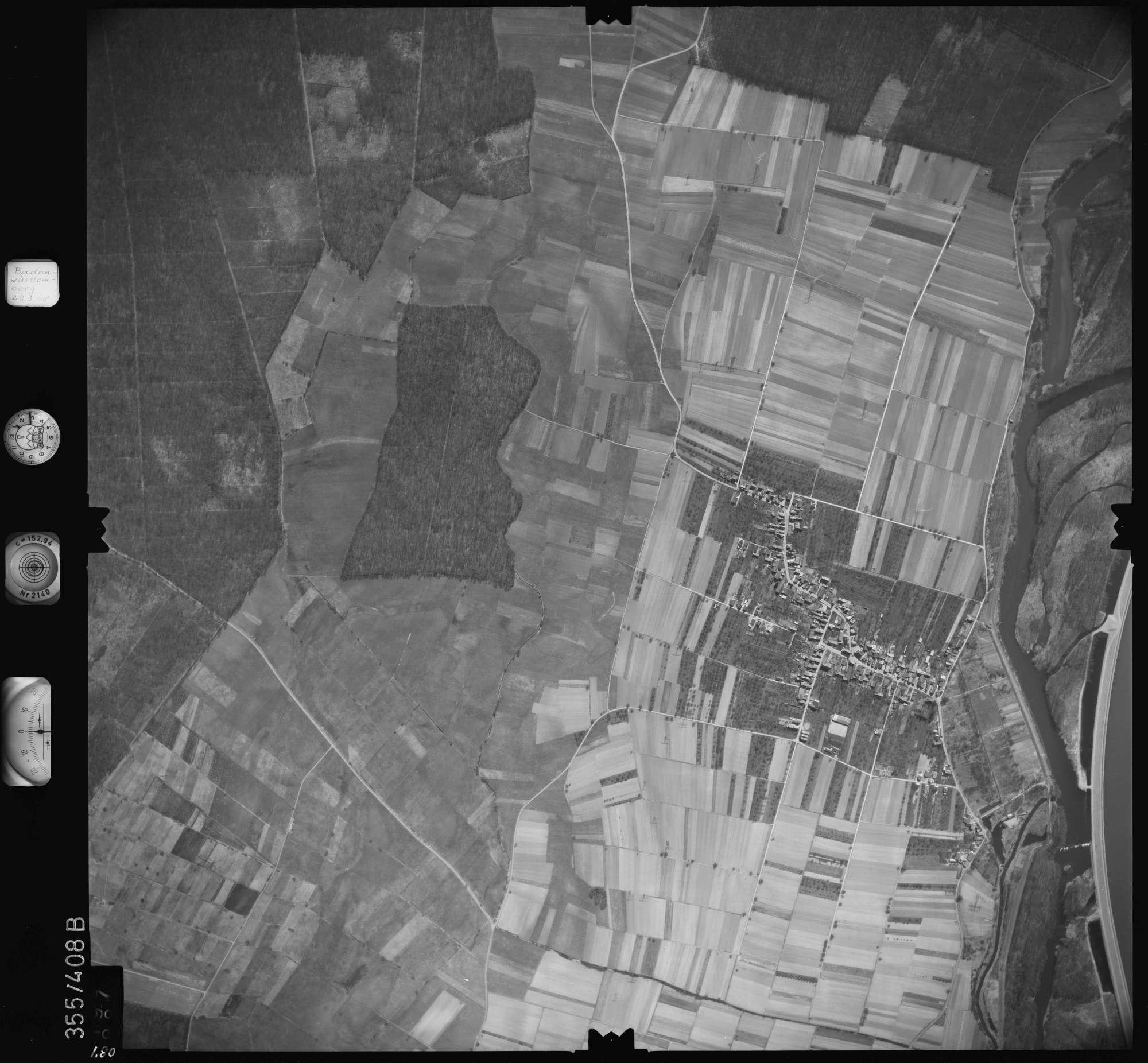 Luftbild: Film 36 Bildnr. 87, Bild 1