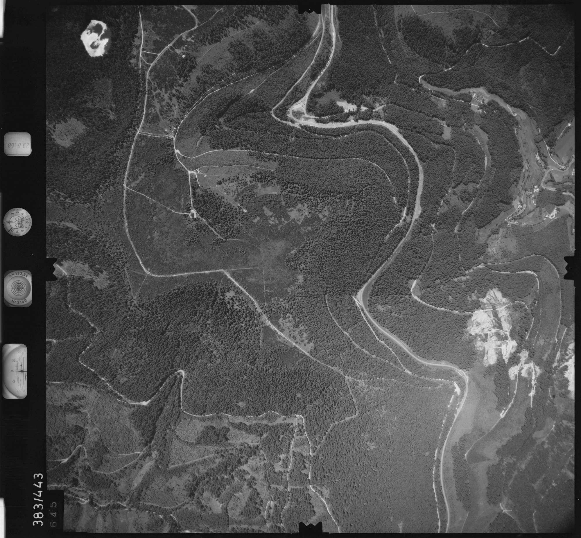 Luftbild: Film 25 Bildnr. 645, Bild 1