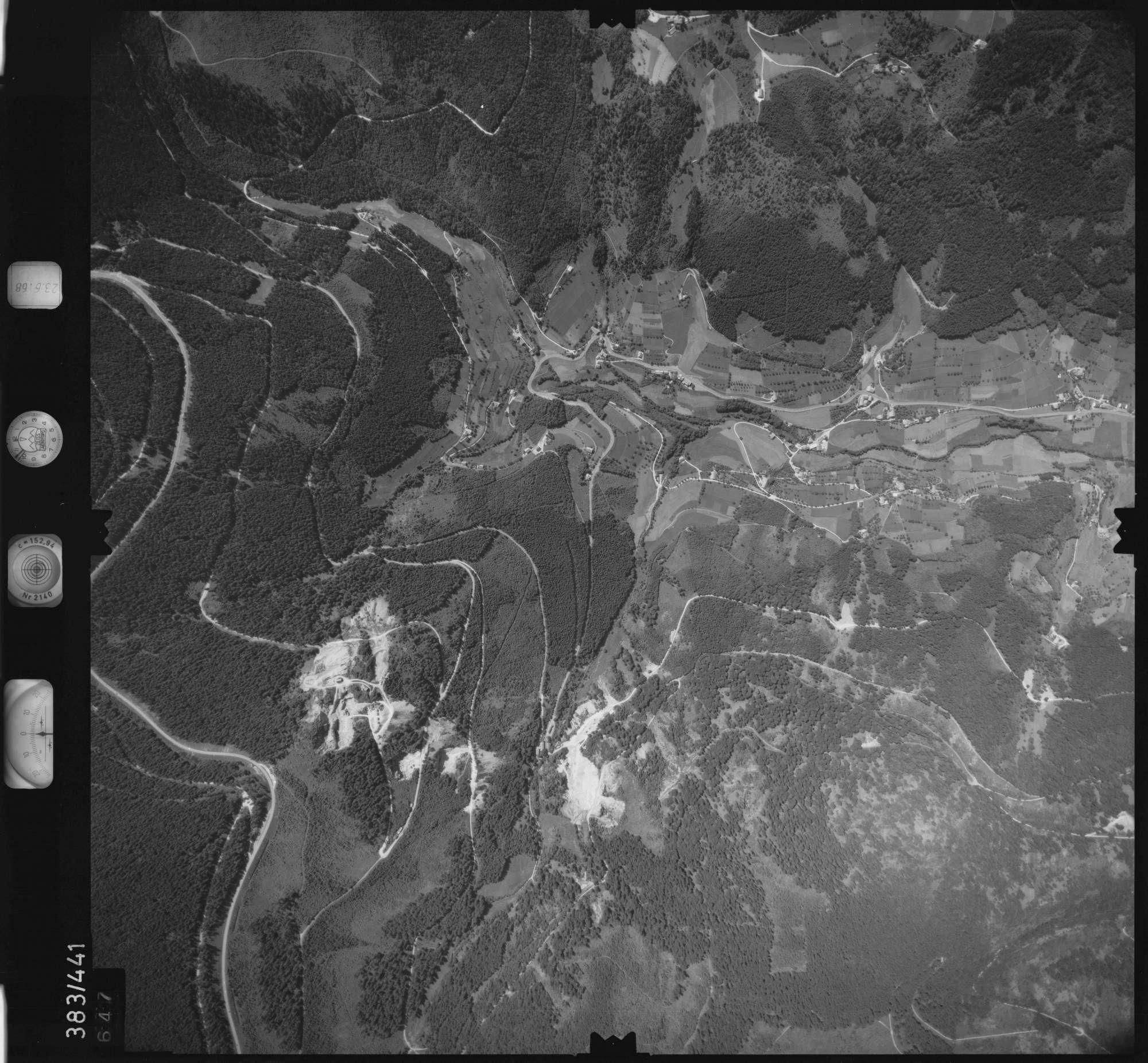Luftbild: Film 25 Bildnr. 647, Bild 1