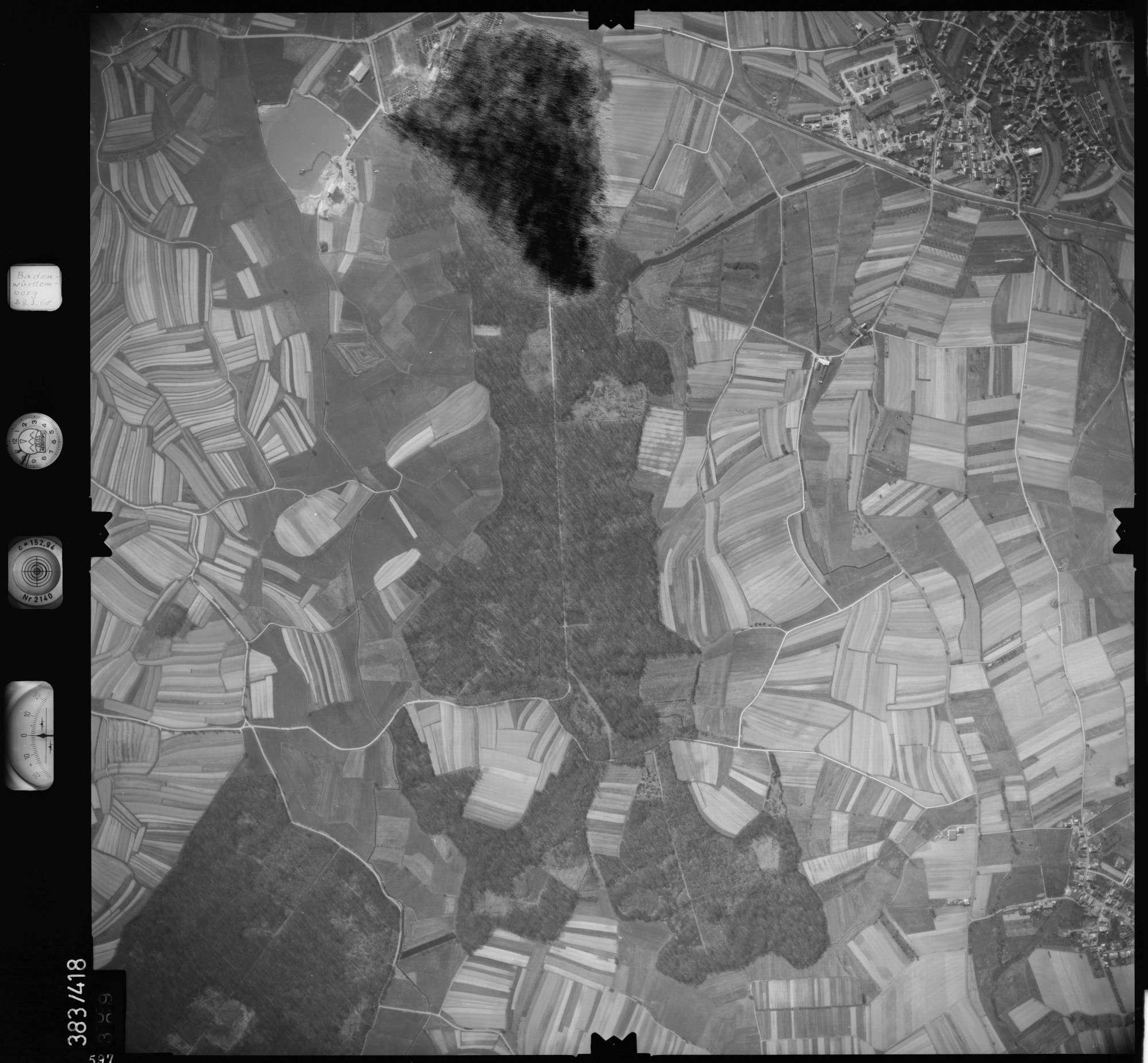 Luftbild: Film 24 Bildnr. 597, Bild 1
