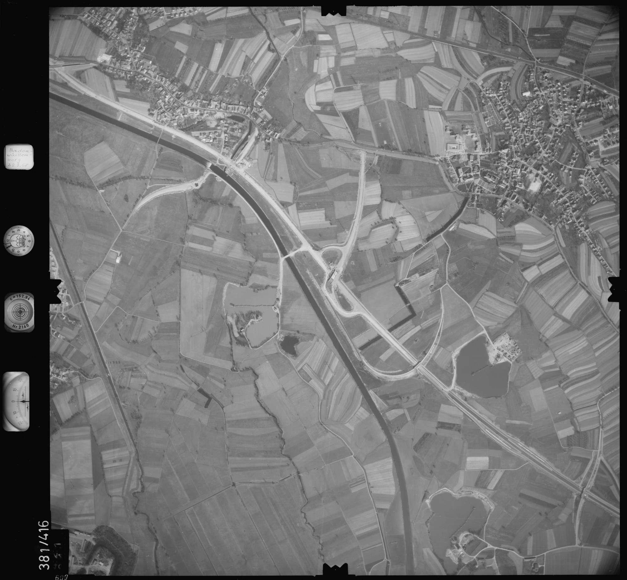 Luftbild: Film 24 Bildnr. 609, Bild 1