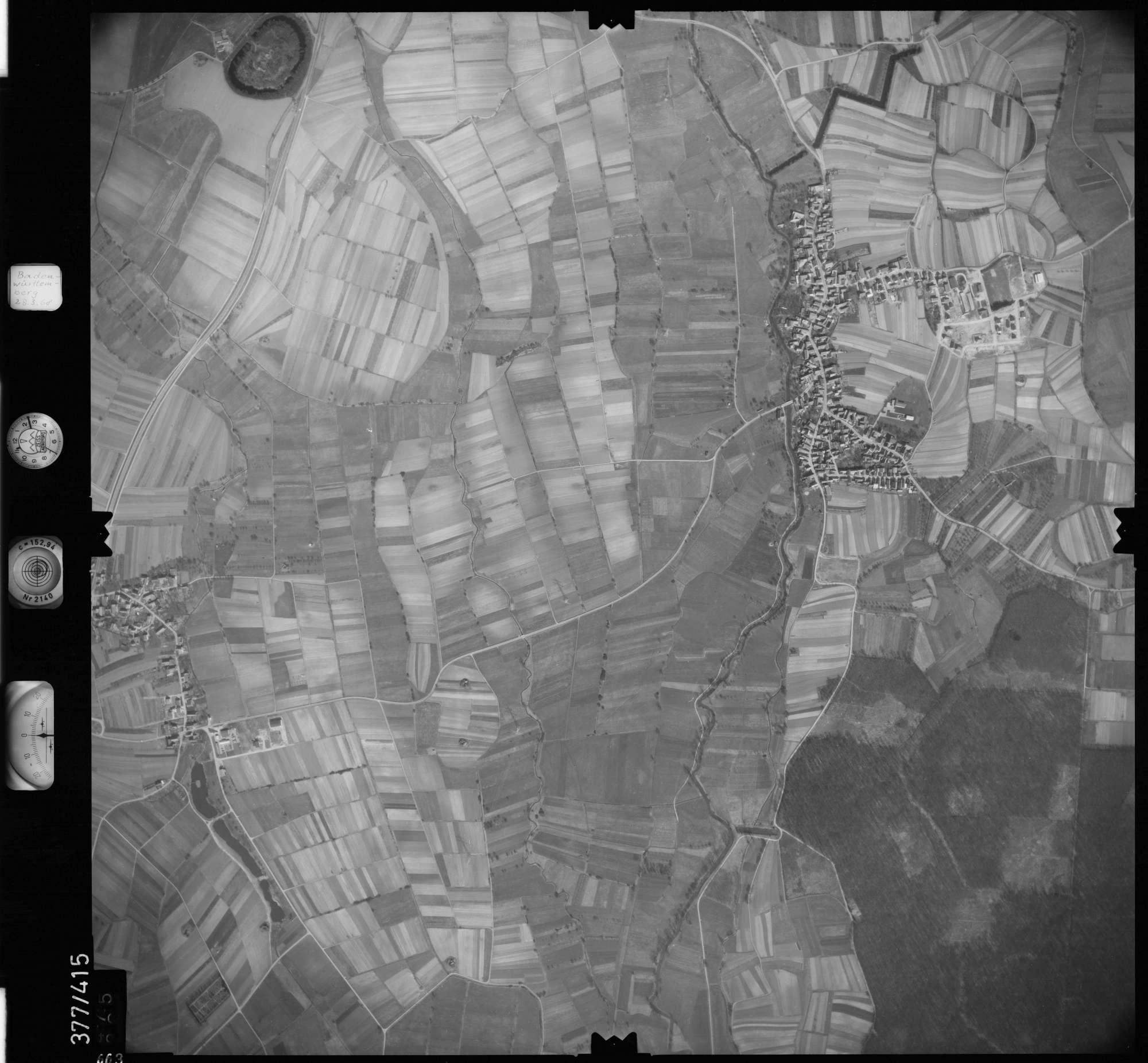 Luftbild: Film 24 Bildnr. 663, Bild 1