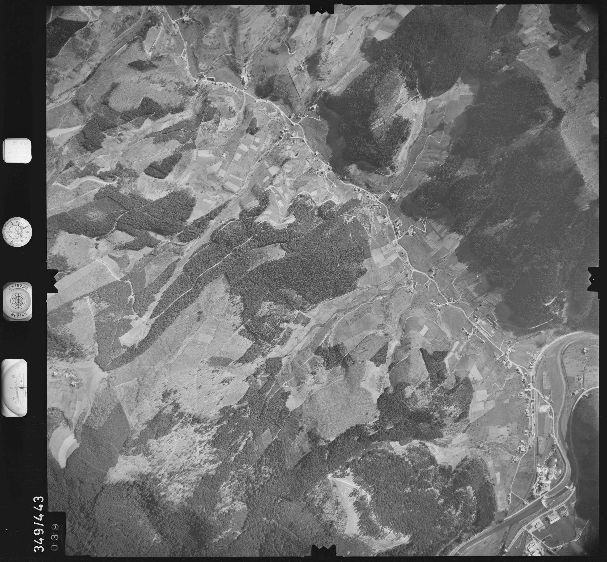 Luftbild: Film 43 Bildnr. 39, Bild 1