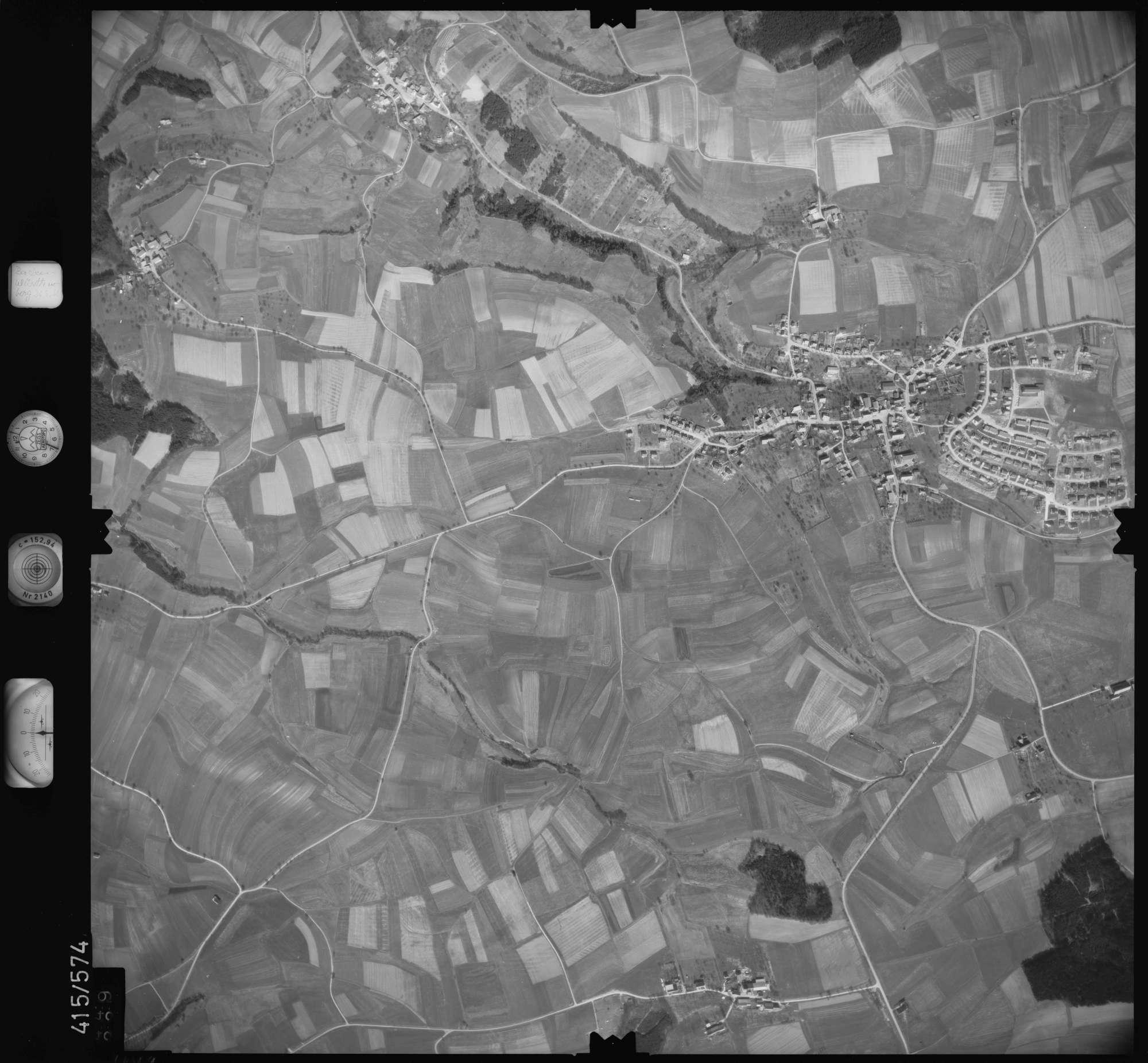Luftbild: Film 6 Bildnr. 449, Bild 1