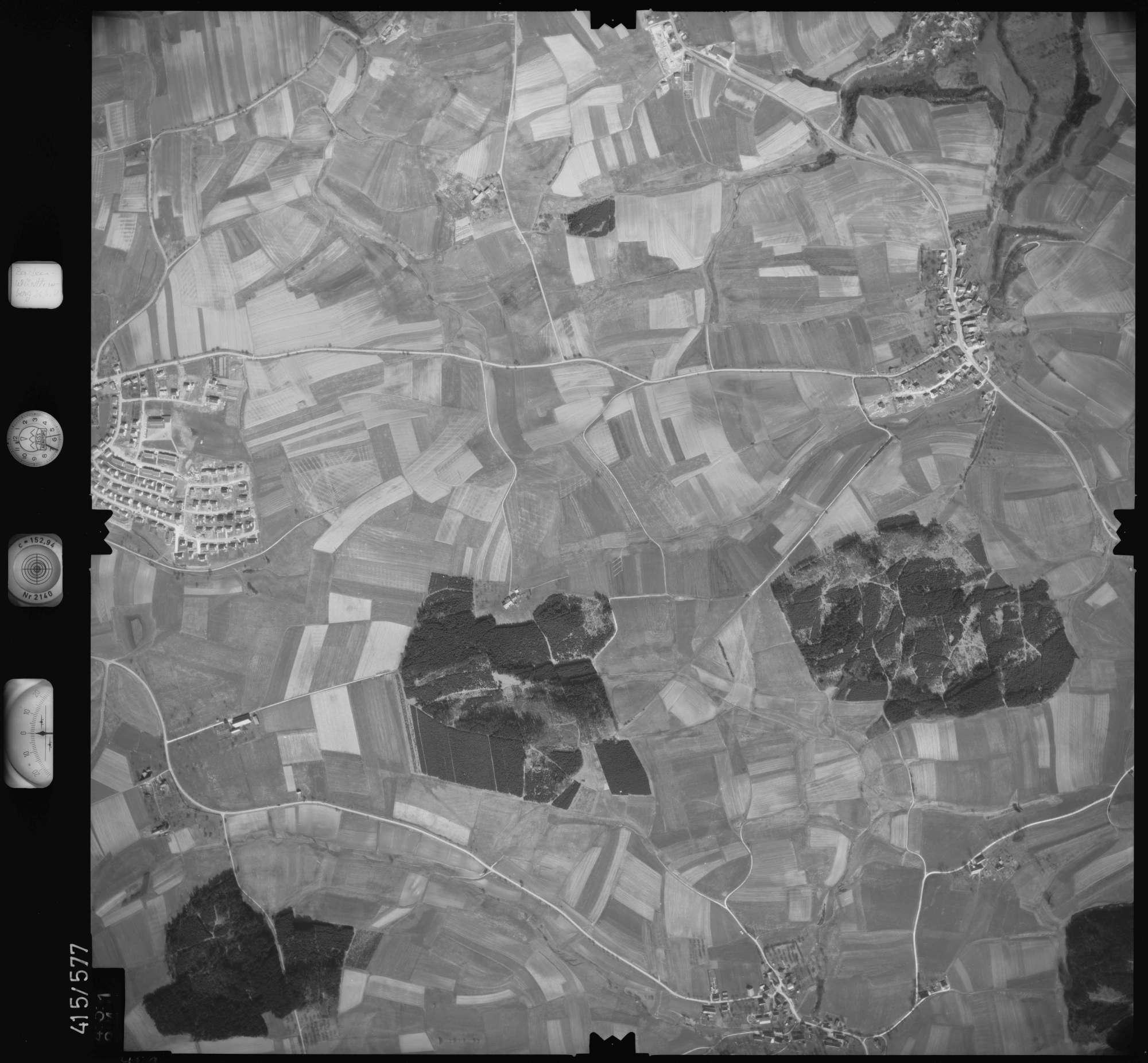 Luftbild: Film 6 Bildnr. 451, Bild 1